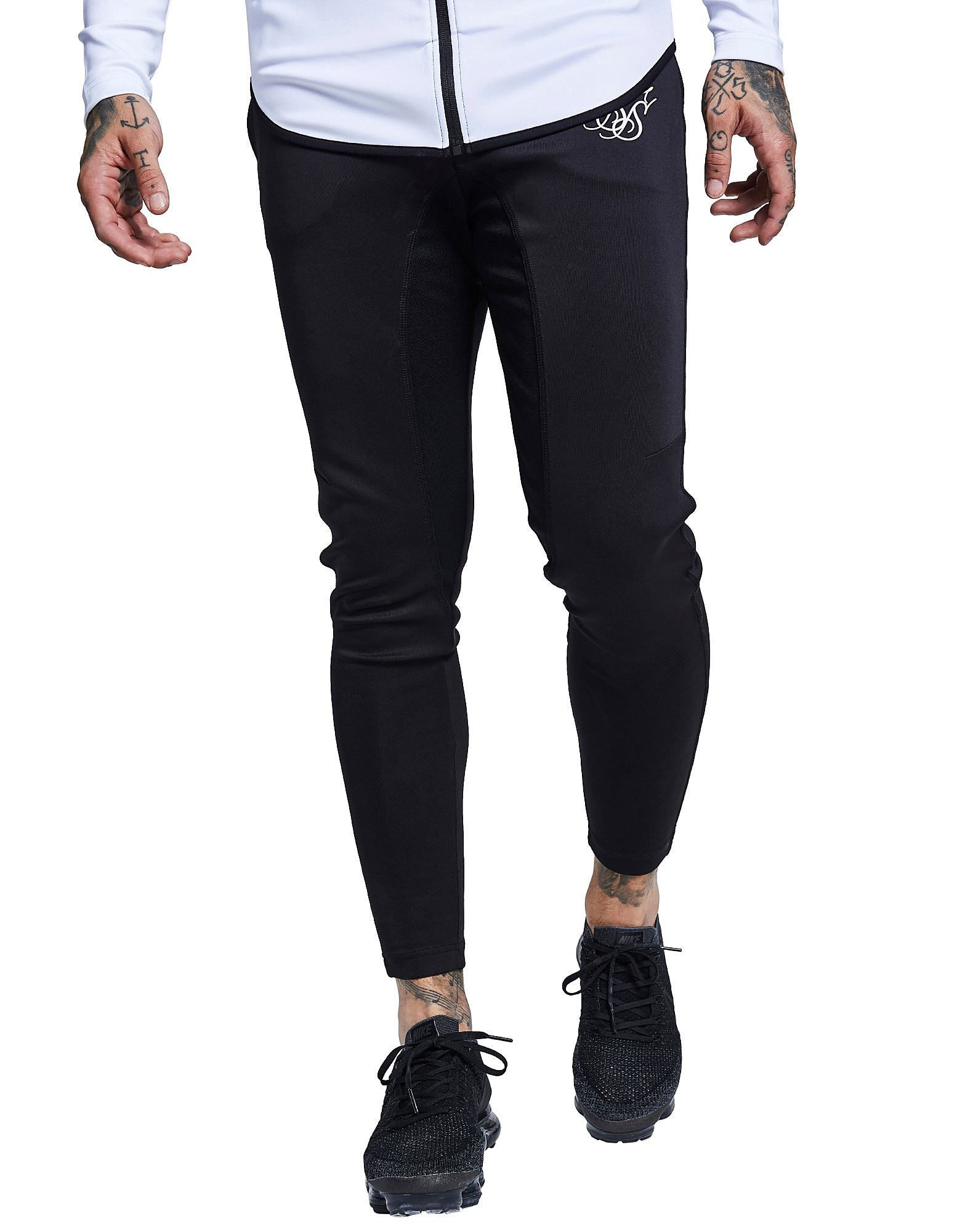 SikSilk Athlete Pants - Zwart - Heren