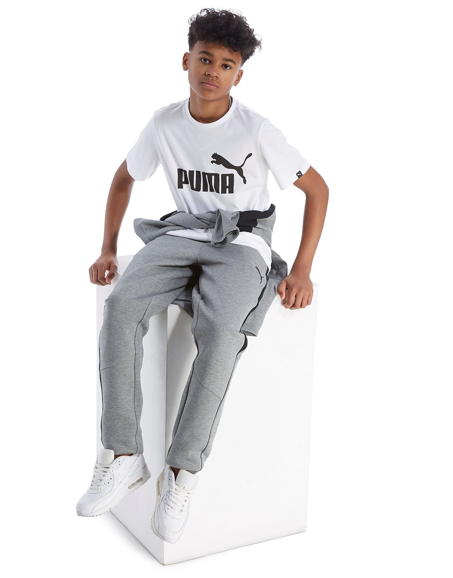 PUMA No 1 Logo T-Shirt Junior