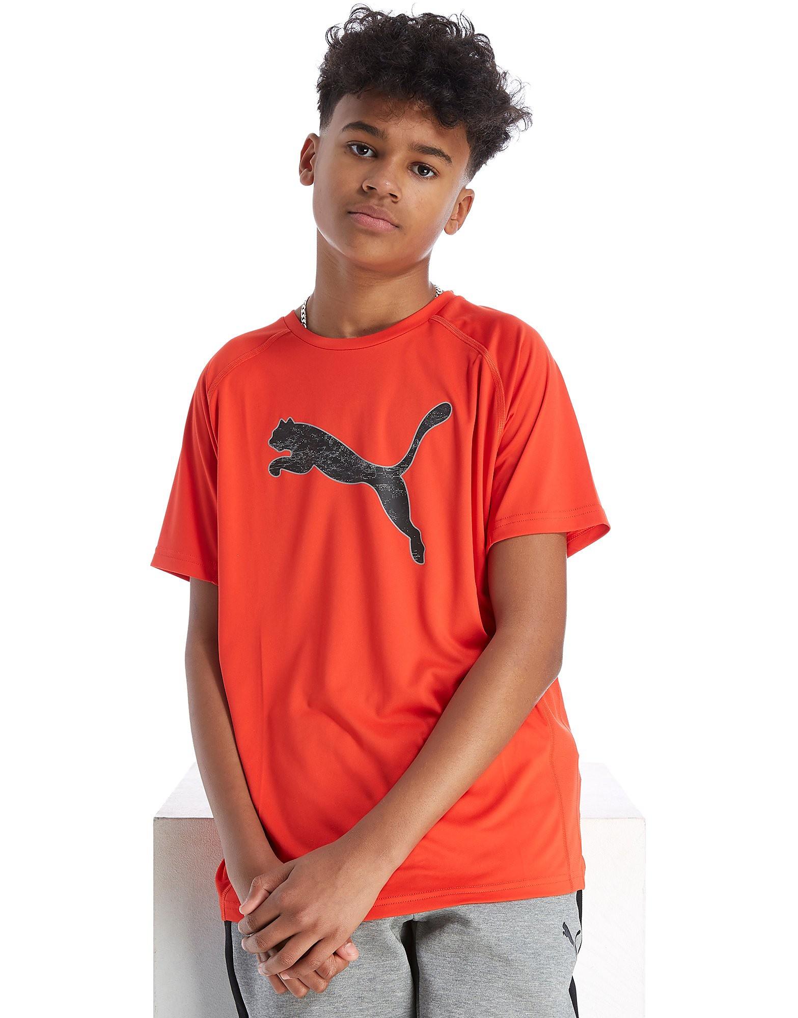 PUMA Graphic Poly T-Shirt Junior