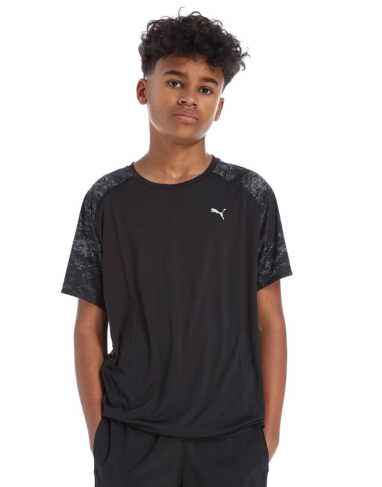 PUMA Printed Poly T-Shirt Junior