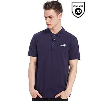 PUMA Plain Number 1 Logo Polo Shirt