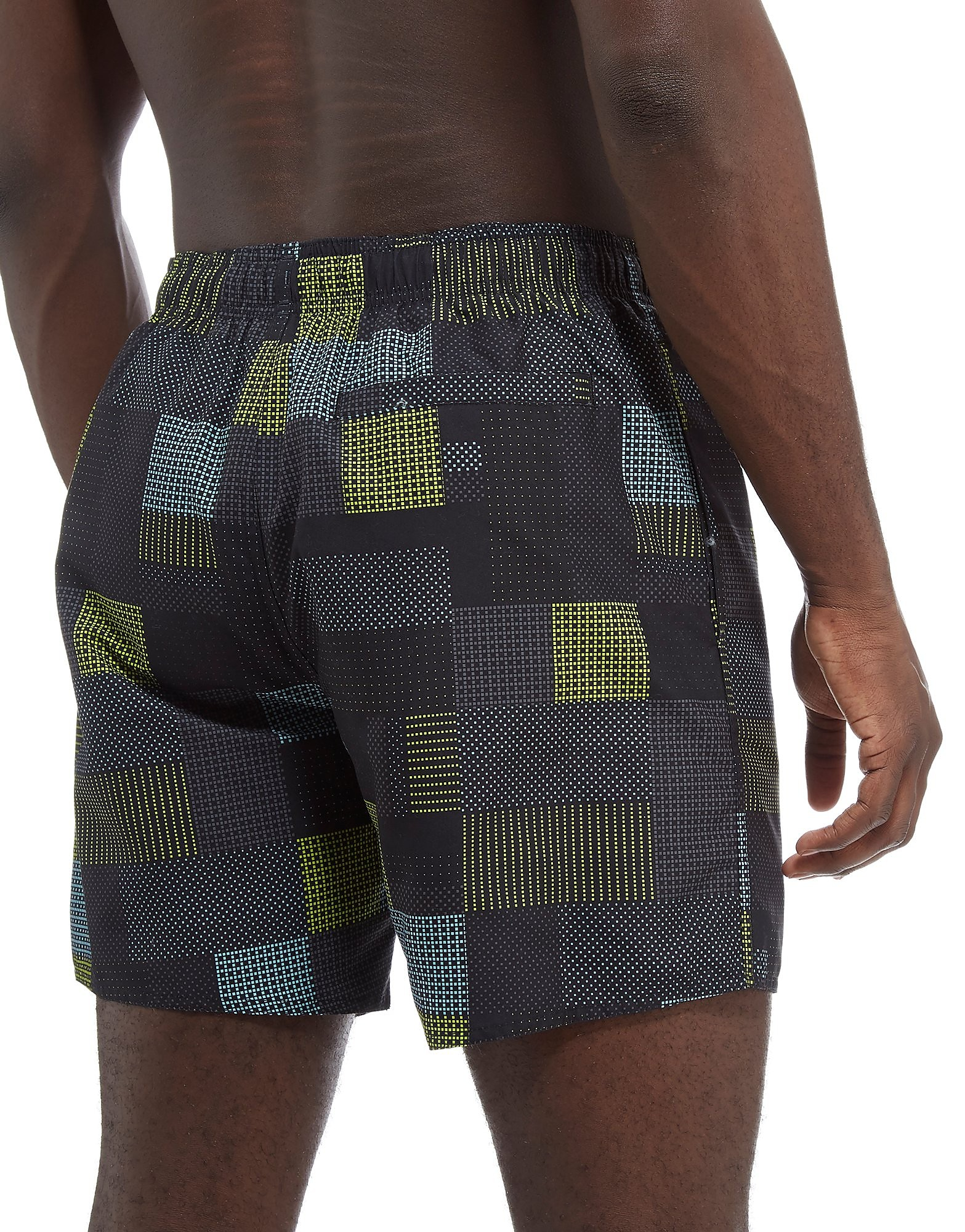 Speedo Printed Check Leisure Swim Shorts