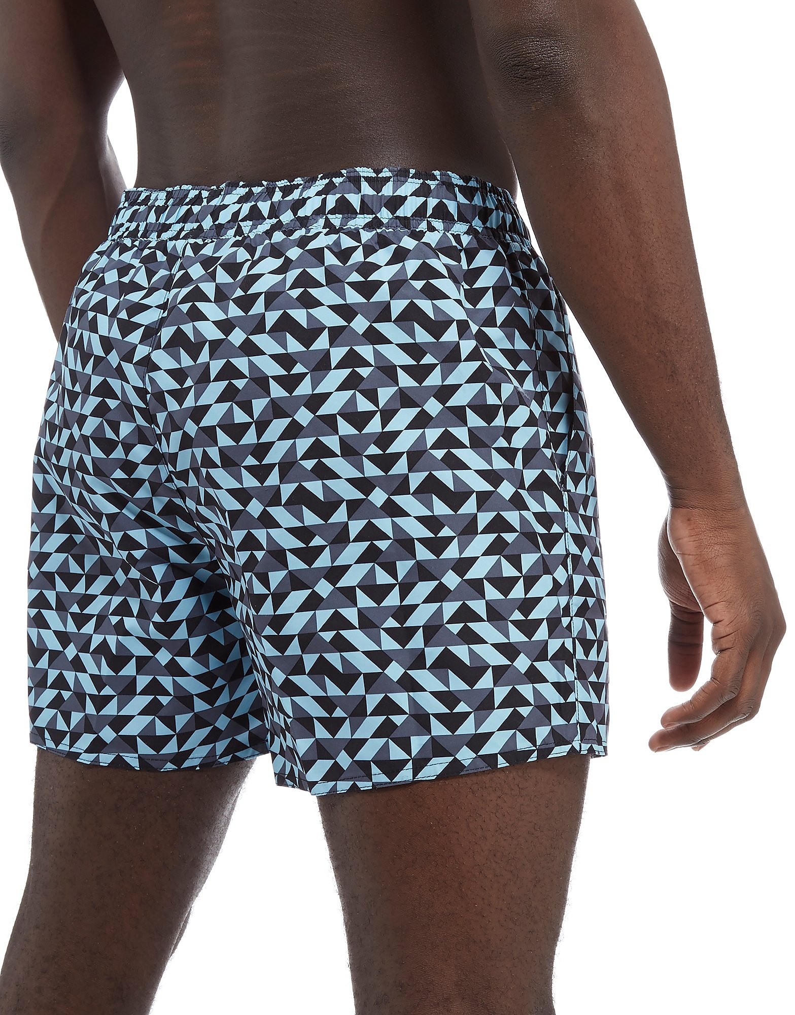 "Speedo Vintage Printed 14"" Swim Shorts"