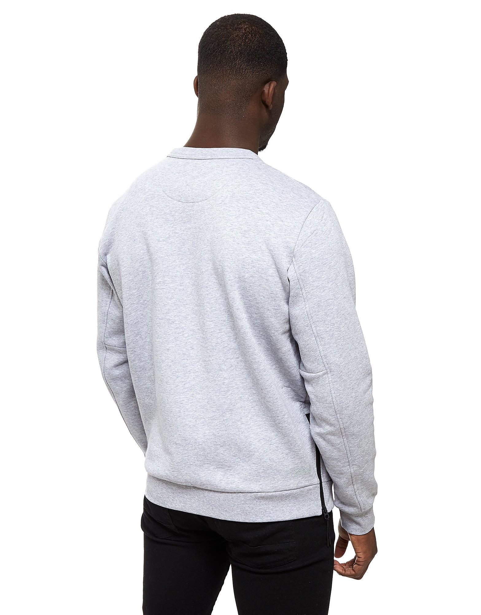 Lacoste Side Zip Fleece Crew Sweatshirt