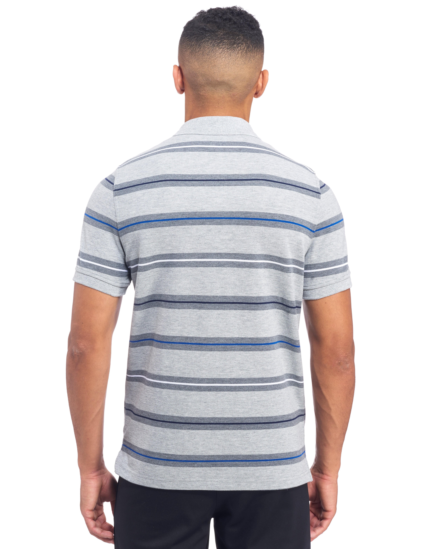 Canterbury Bath Rugby Stripe Polo Shirt