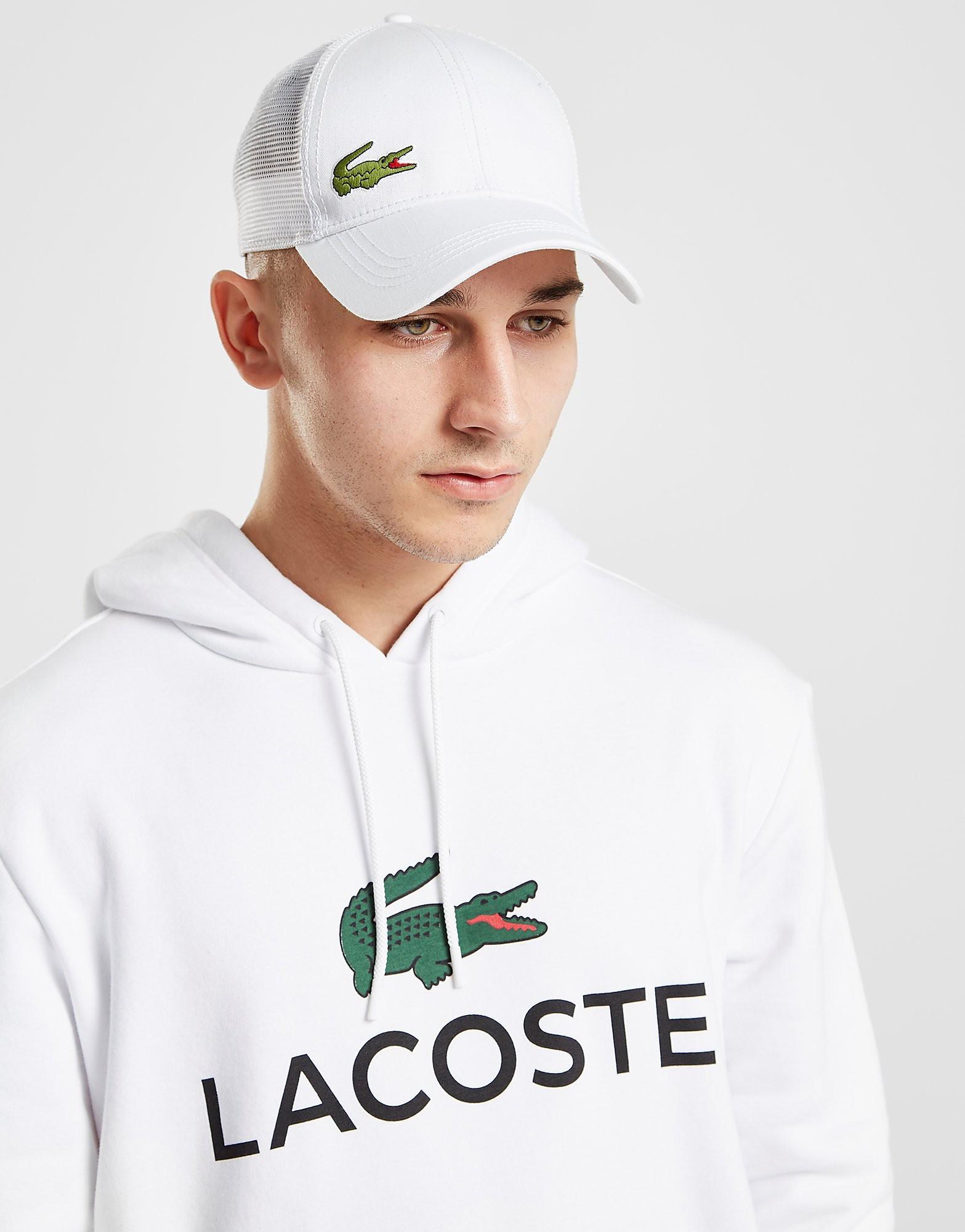 Lacoste Mesh Trucker Cap