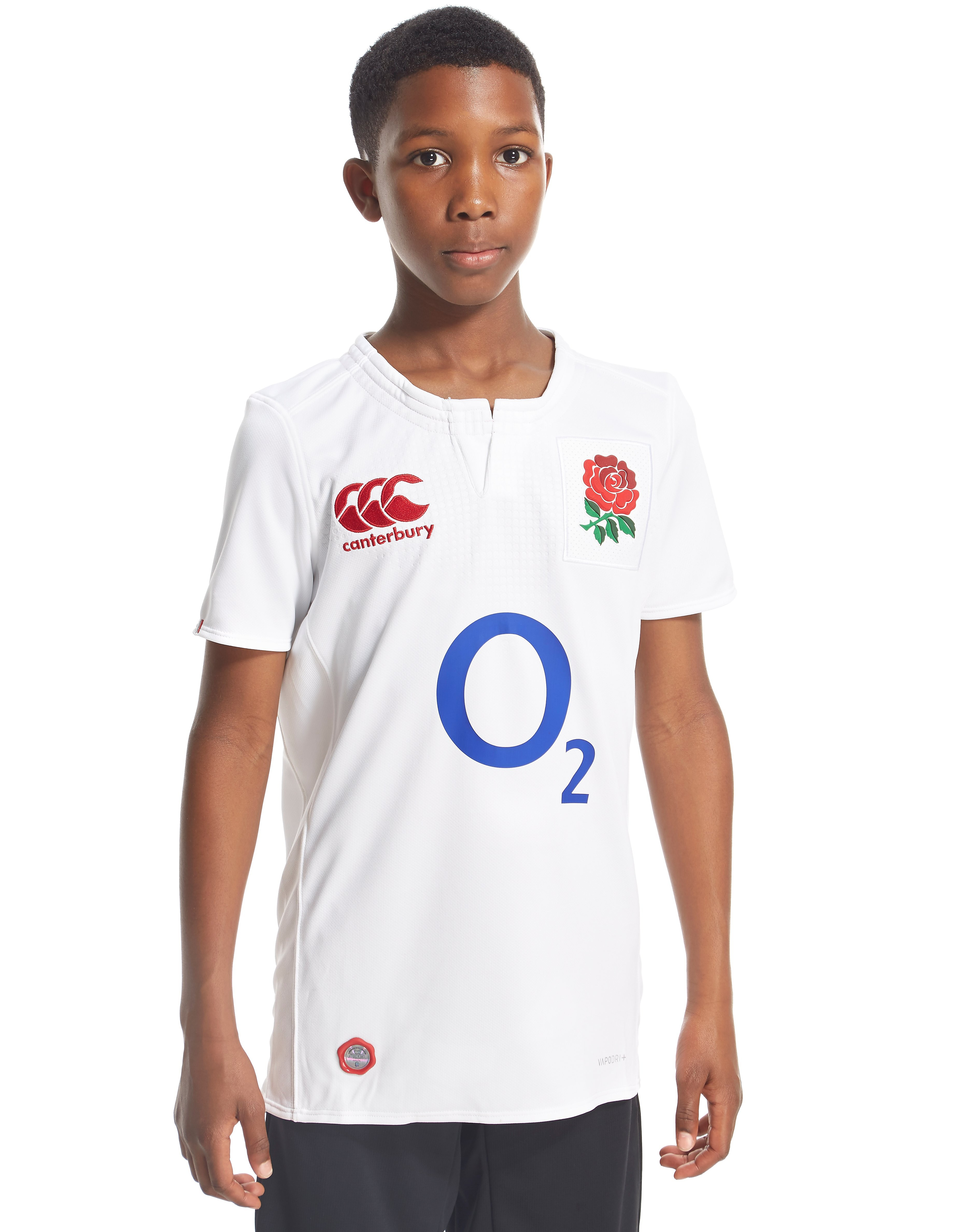Canterbury England Rugby Home 2016 Shirt Junior
