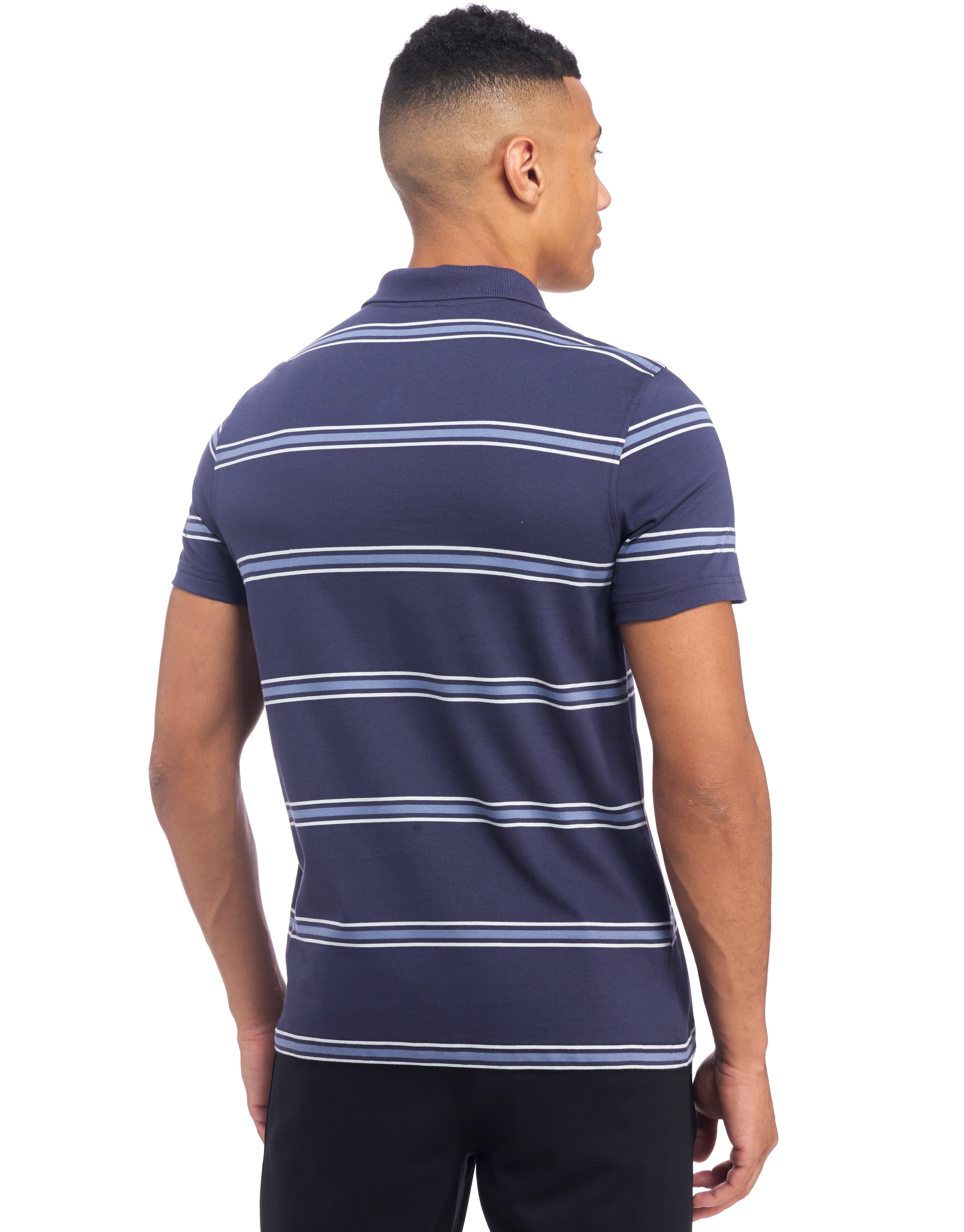 Canterbury England RFU Stripe Polo Shirt