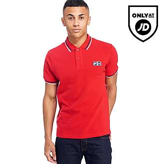 Fila Lovatti Tipped Polo Shirt