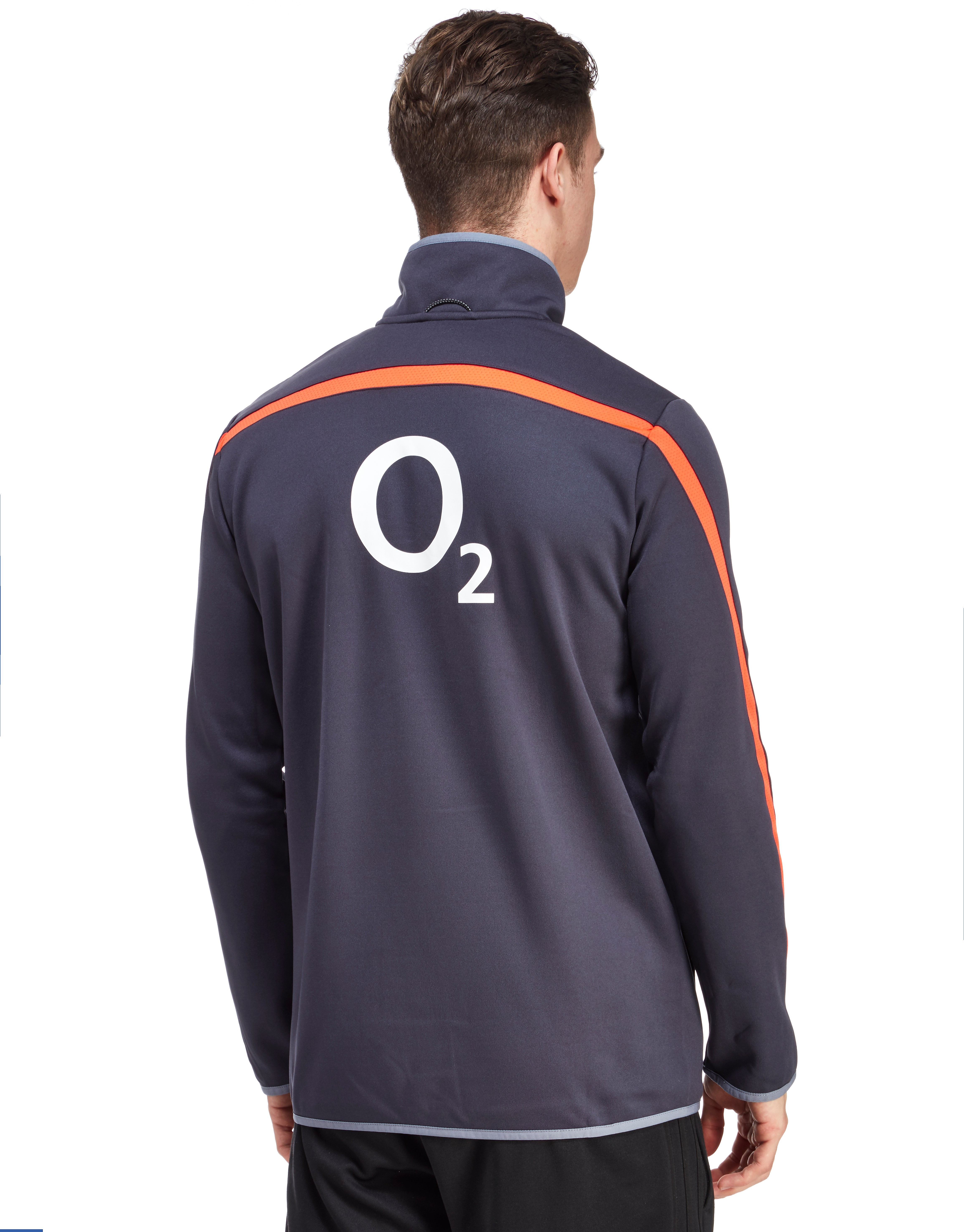 Canterbury England RFU Thermal Layer Half Zip Fleece