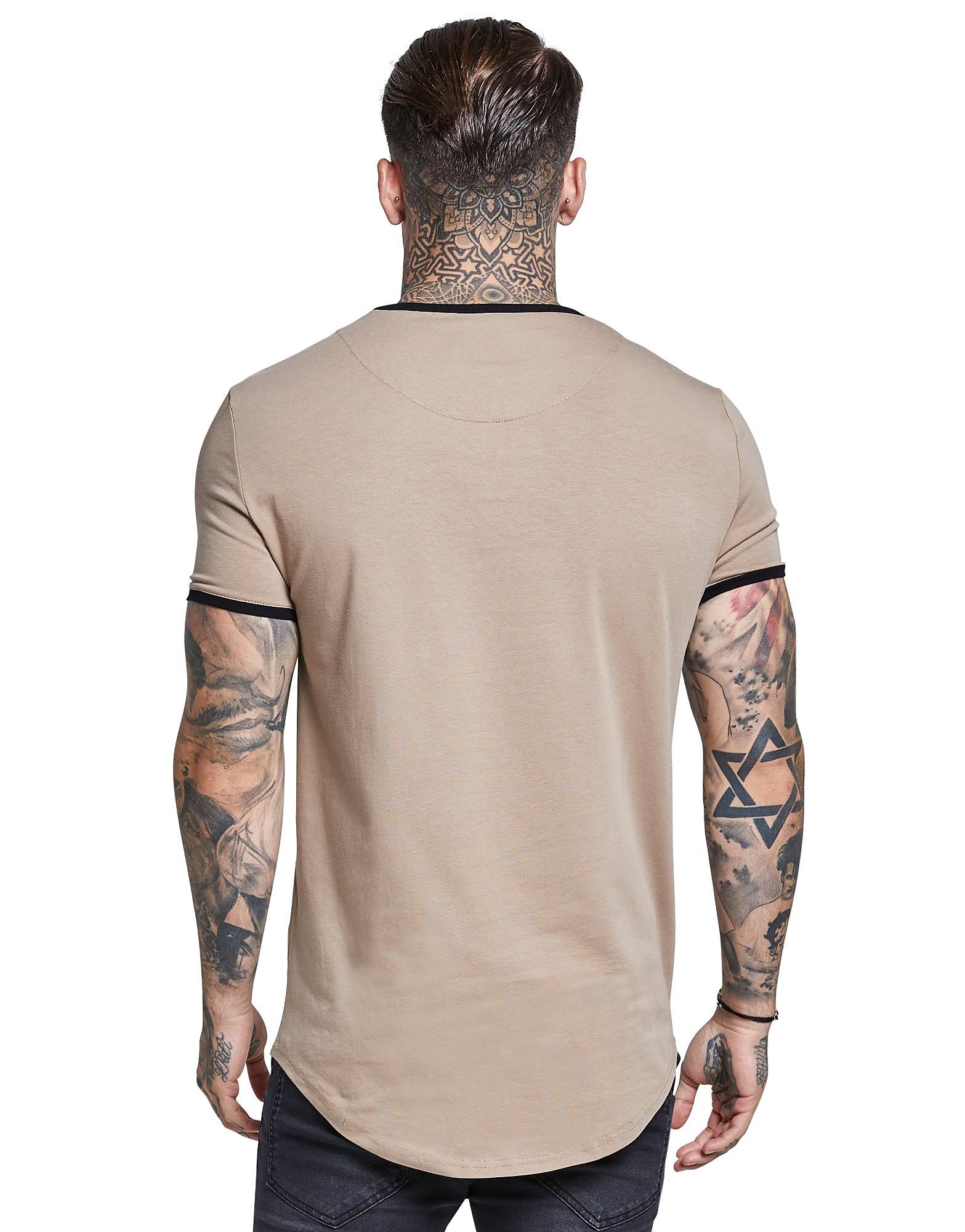 SikSilk Ringer T-Shirt