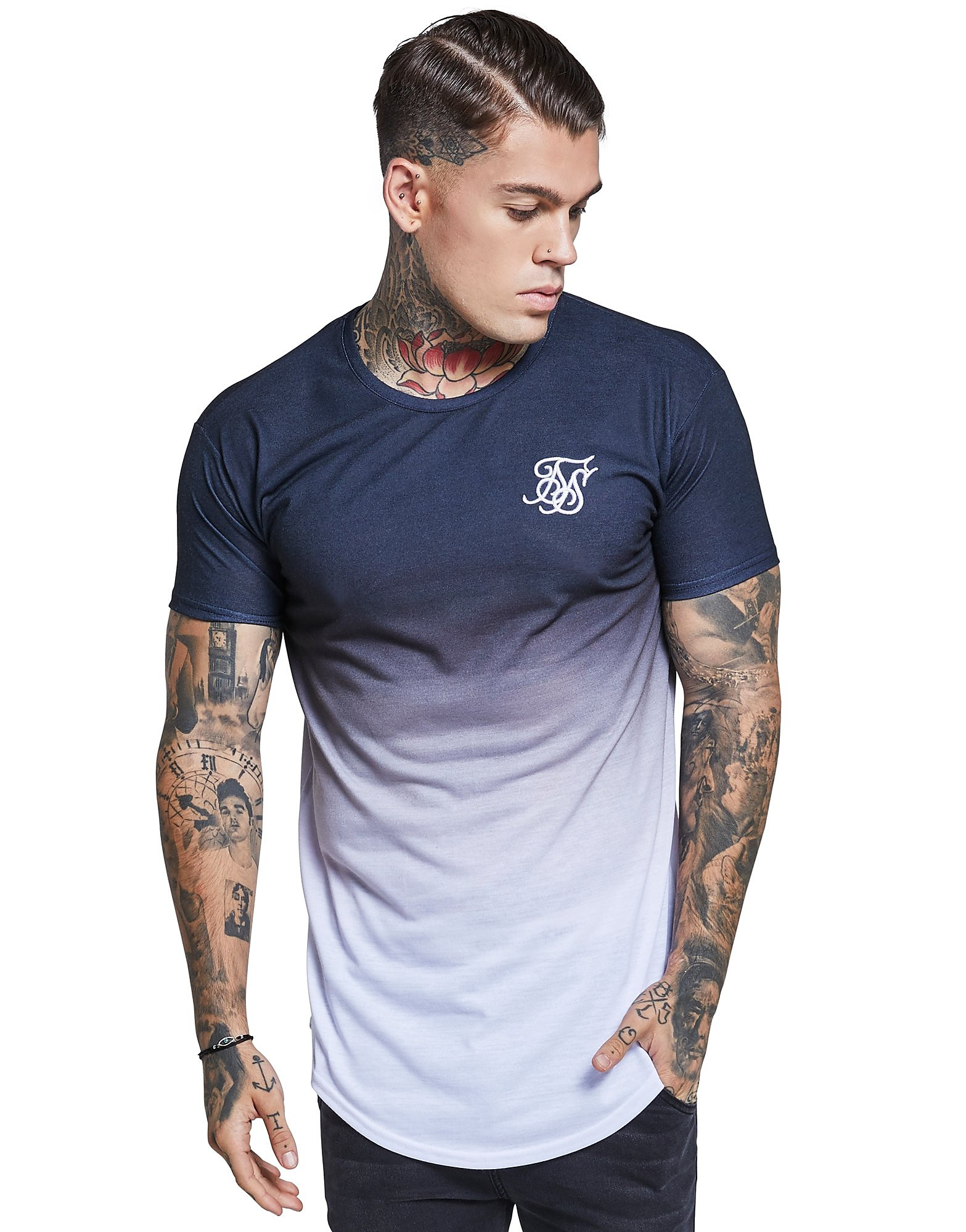 SikSilk Watercolour Fade Heren