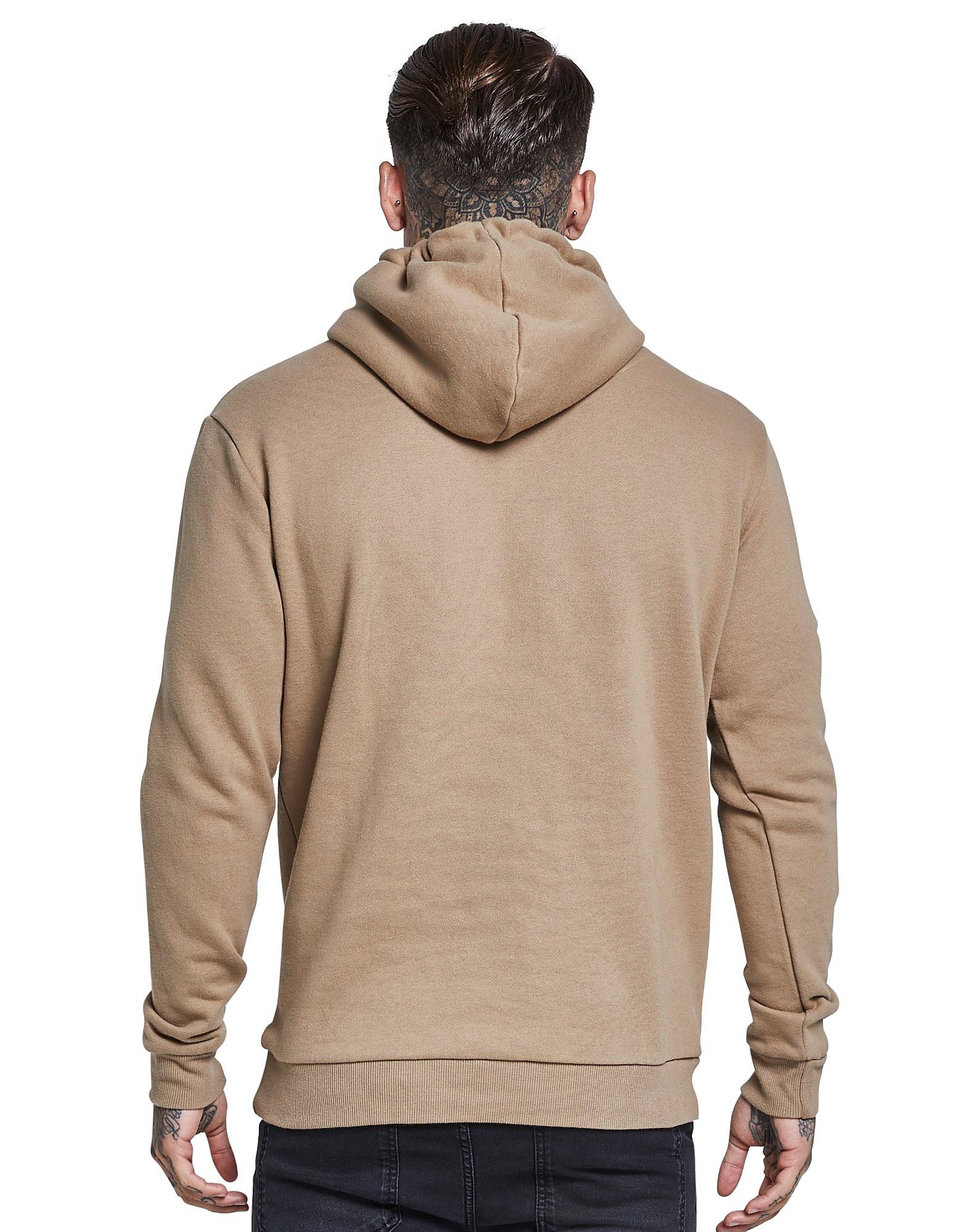 SikSilk 1/4 Zip Fleece Hoodie