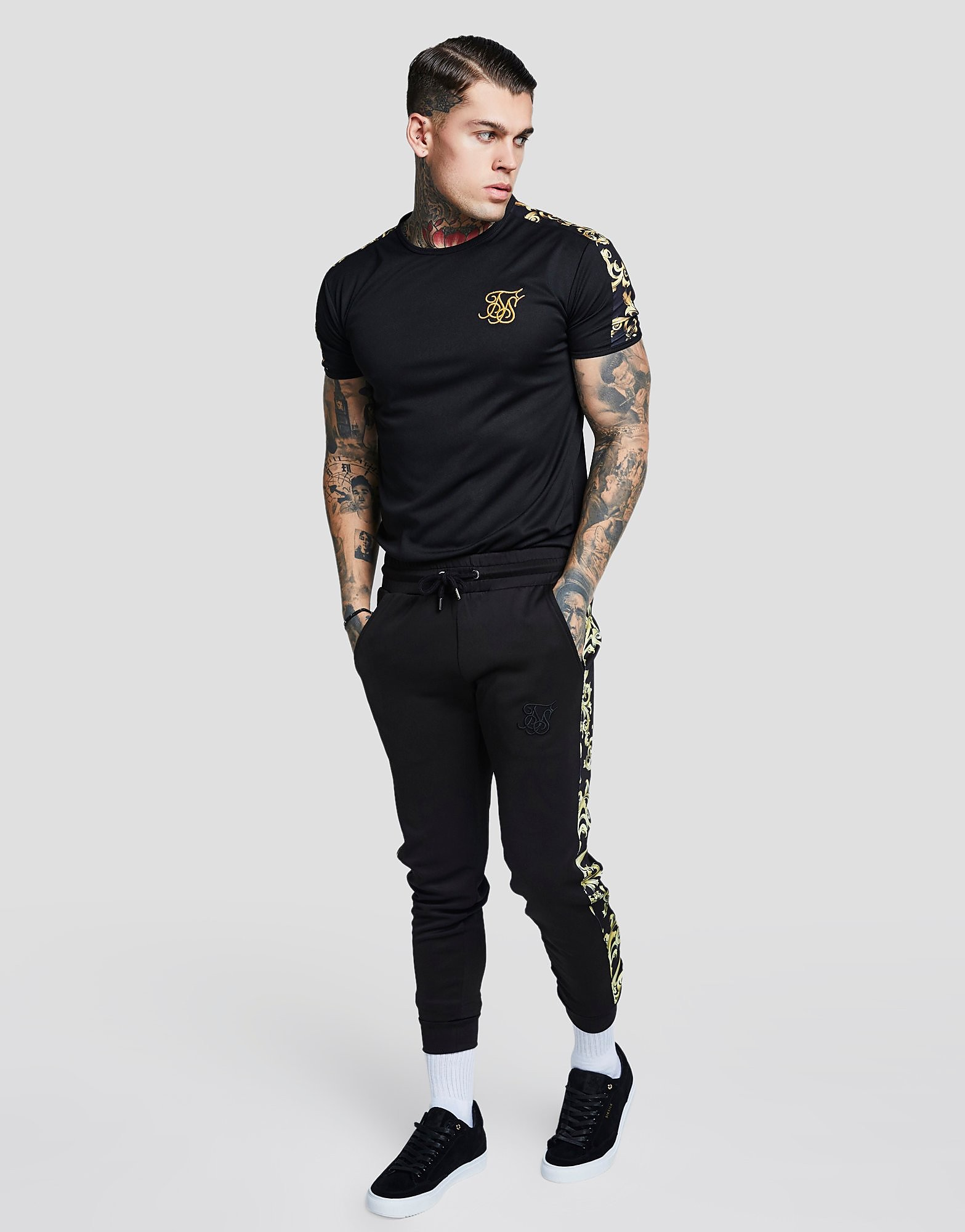 SikSilk Langarm Oxford Shirt