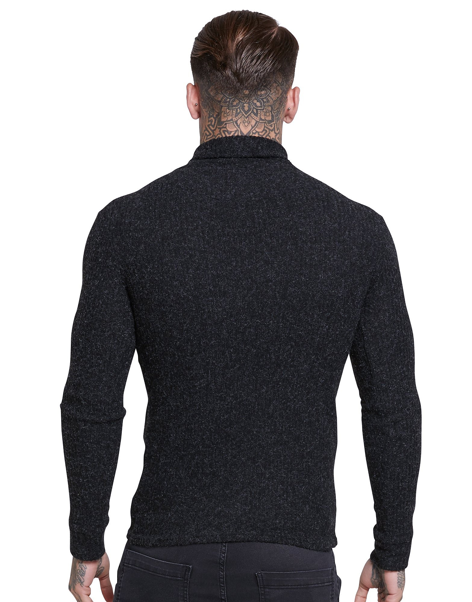 SikSilk Roll Neck Knitted Jumper
