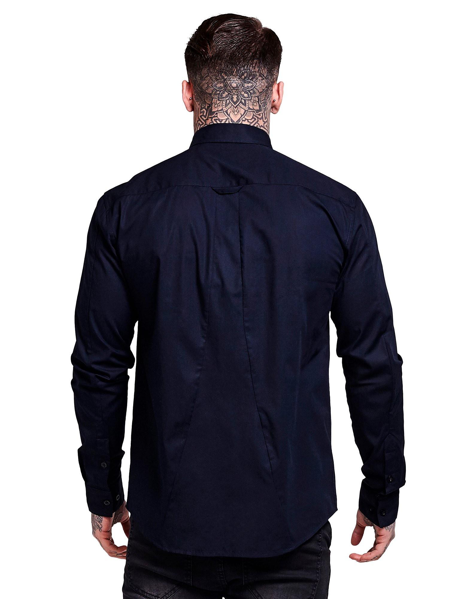 SikSilk Long Sleeve Stretch Shirt