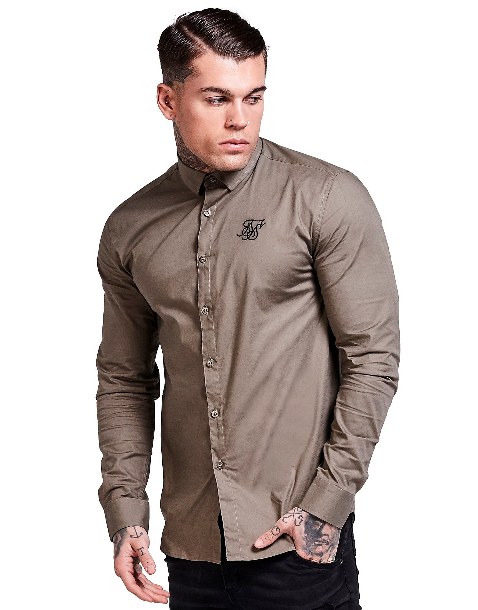 SikSilk Langarm Core Shirt