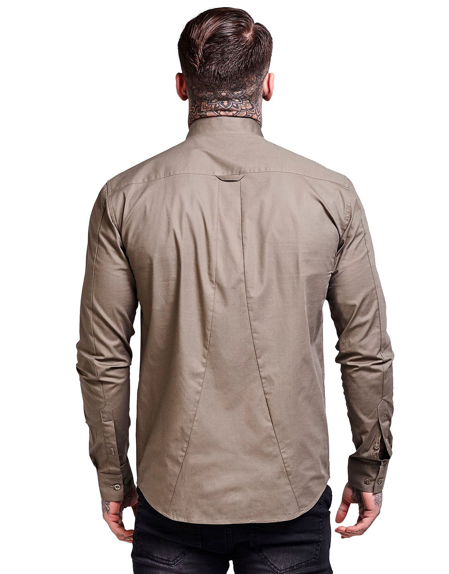 SikSilk Long Sleeve Core Shirt Heren
