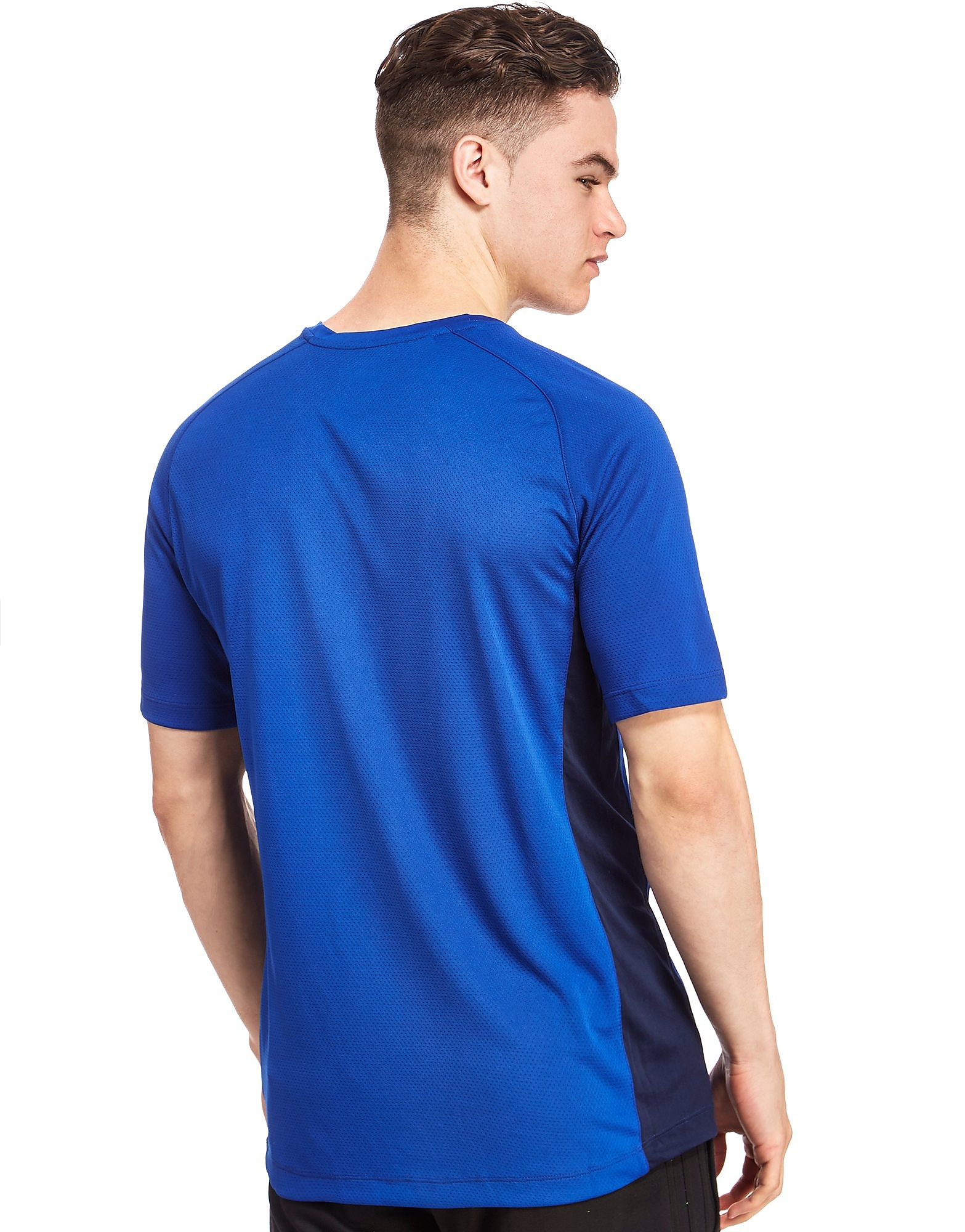 Canterbury Leinster Rugby Poly Short Sleeve T-Shirt