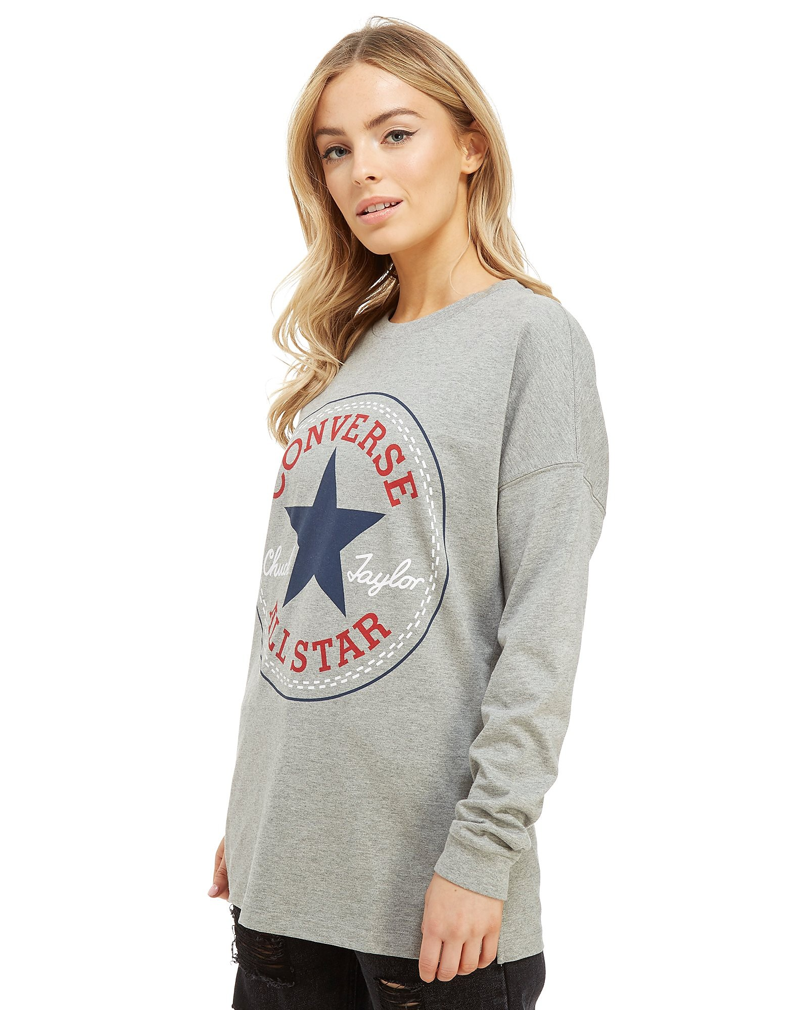 Converse Chuck Long Sleeve T-Shirt Women's