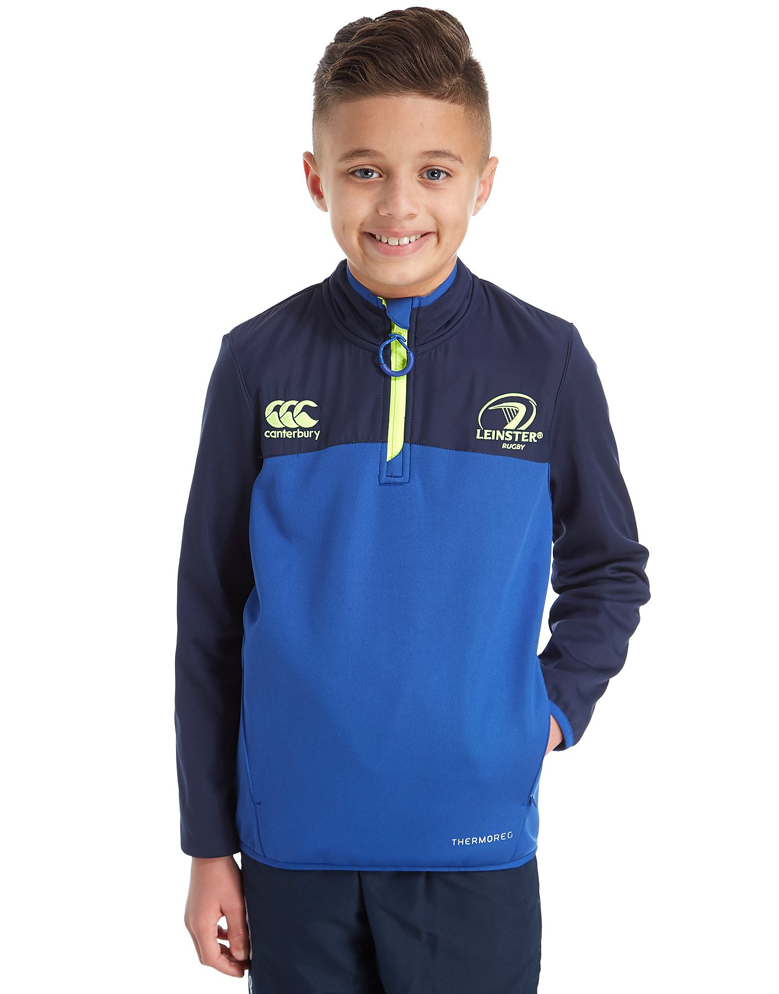 Canterbury Leinster Thermoreg Half Zip Top Junior