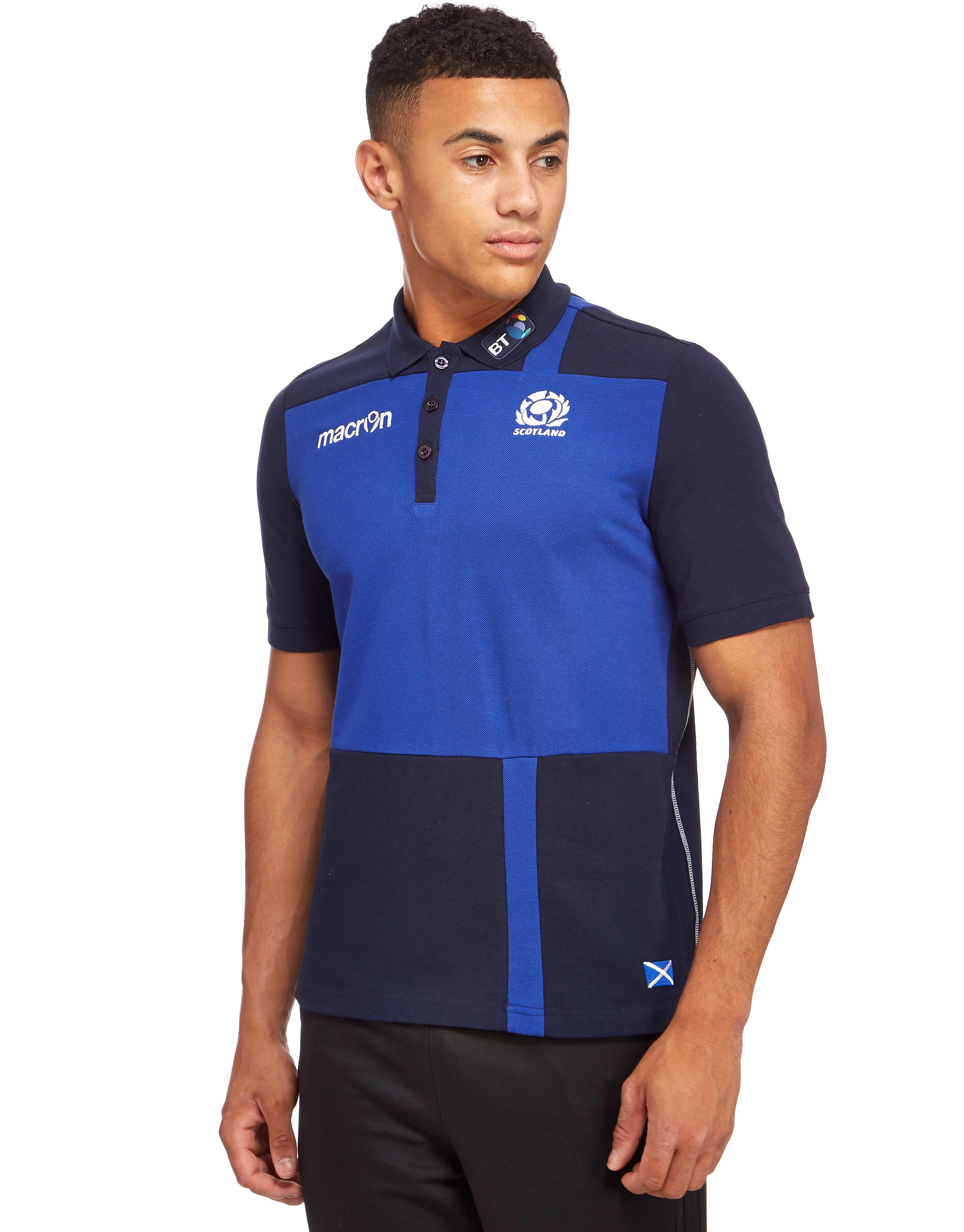Macron Scotland Rugby Union Leisure Polo Shirt