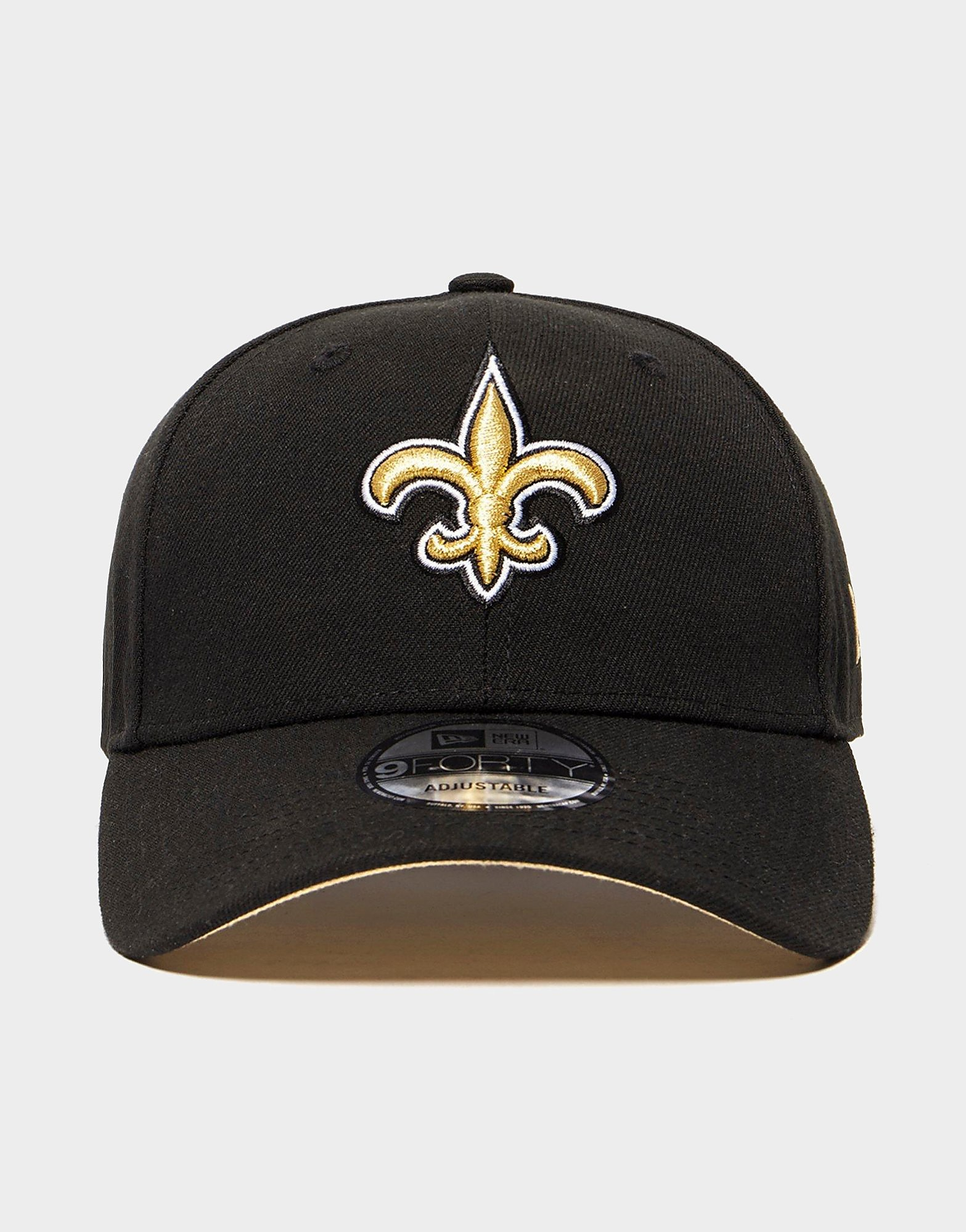 New Era New Orleans Saints 9FORTY Cap - Zwart - Heren