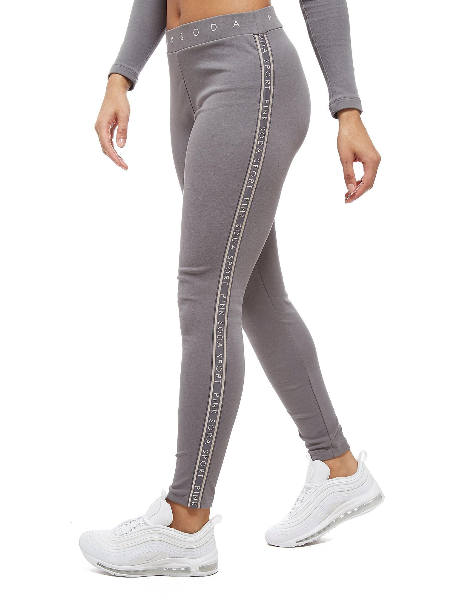 Pink Soda Sport Tape Lifestyle Leggings
