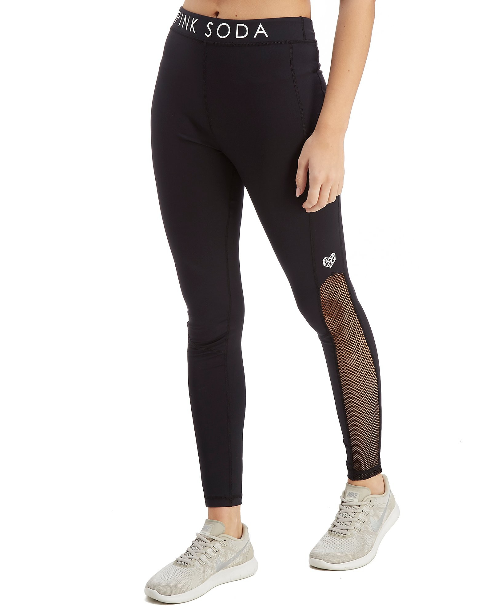 Pink Soda Sport Core Mesh Tights
