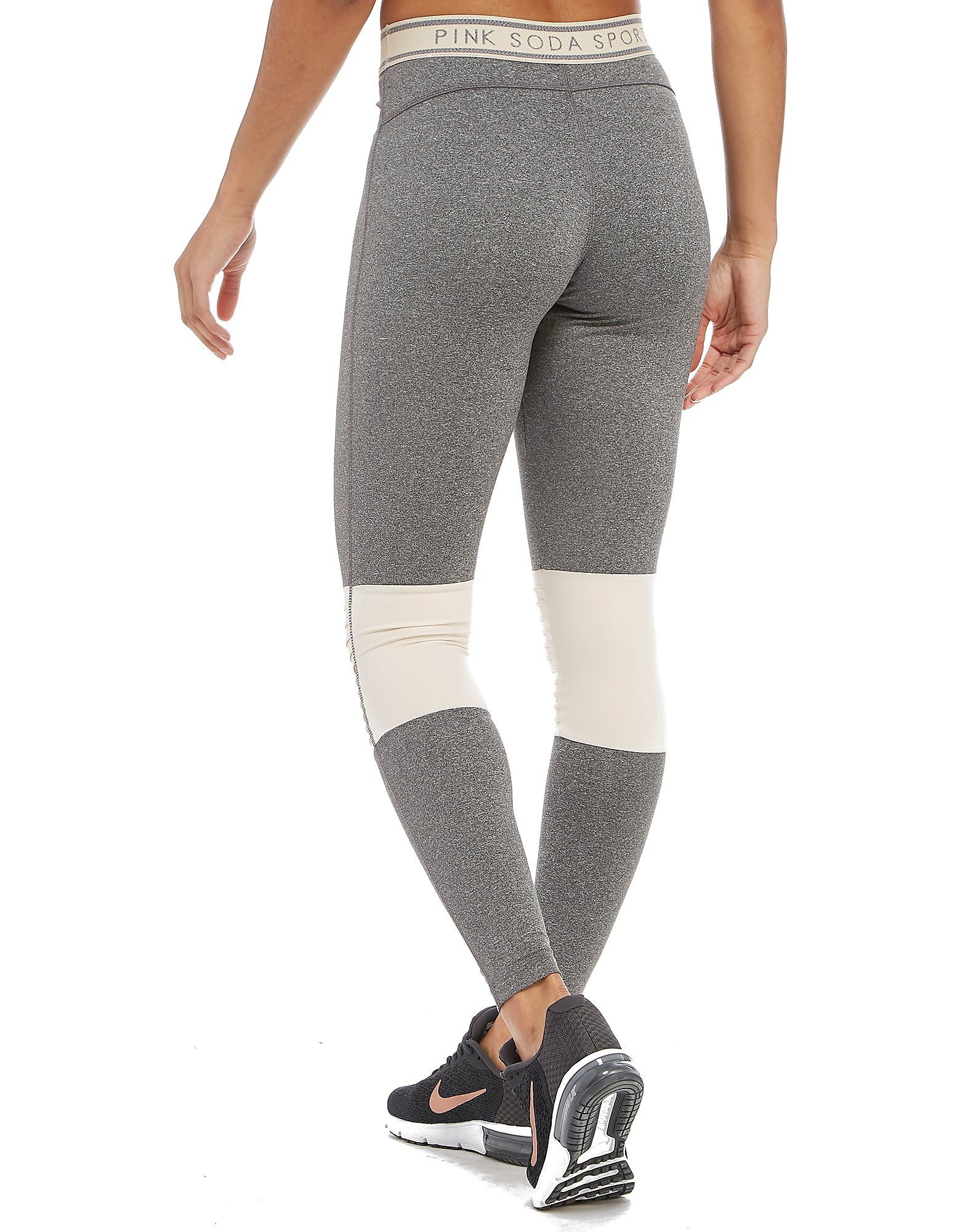 Pink Soda Sport Pin Tuck Tights
