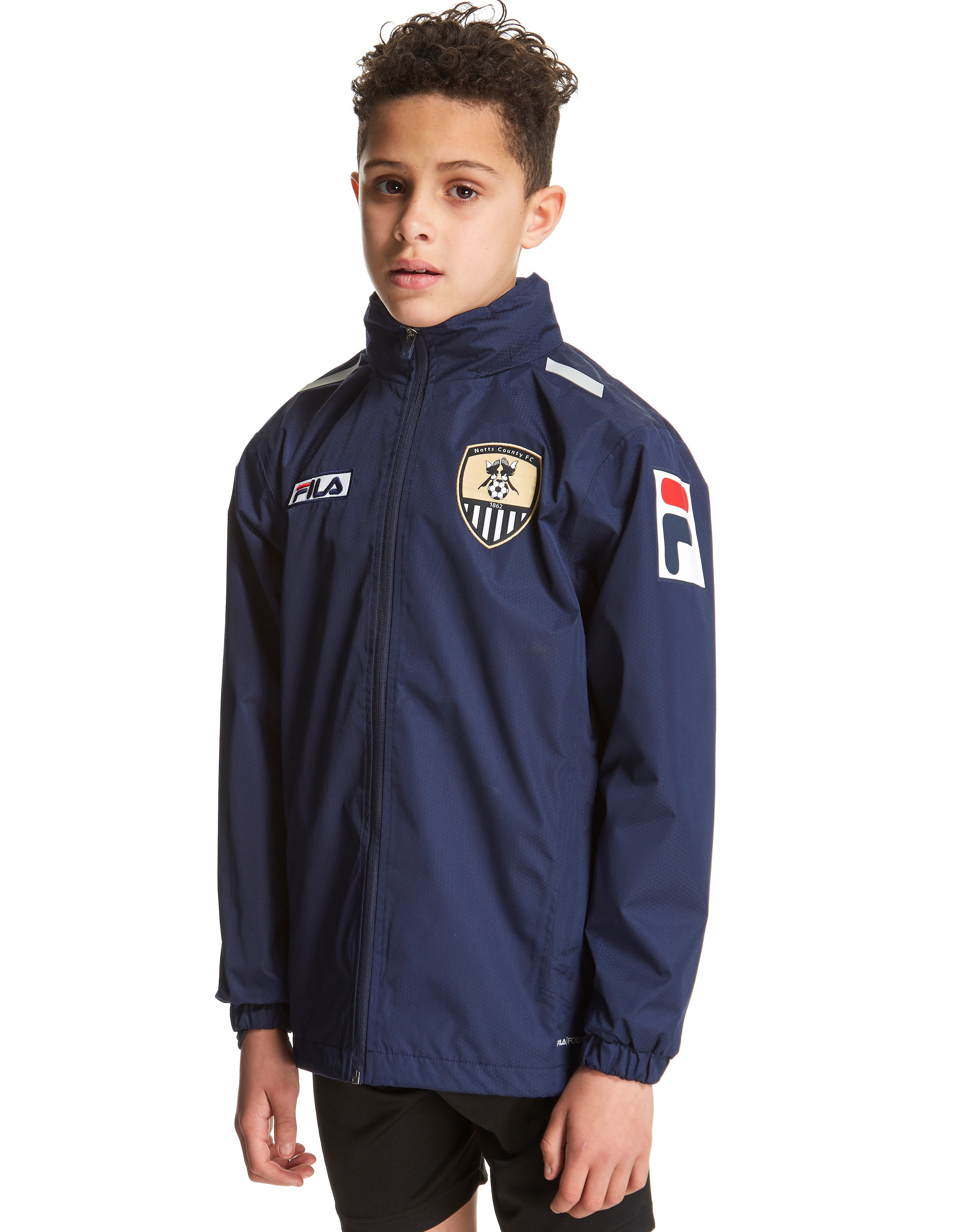 Fila Notts County FC 2012 Shower Jacket Junior