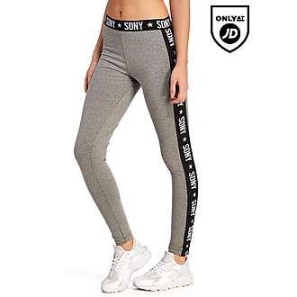 Supply & Demand Grey Tape leggings