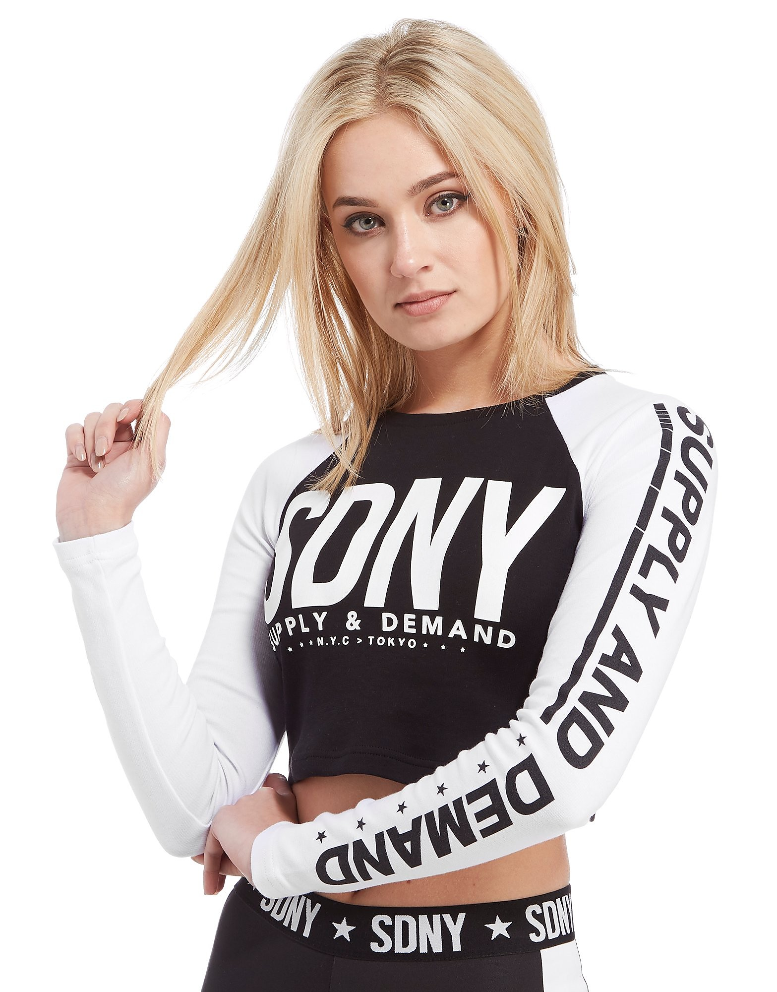 Supply & Demand Crop T-Shirt