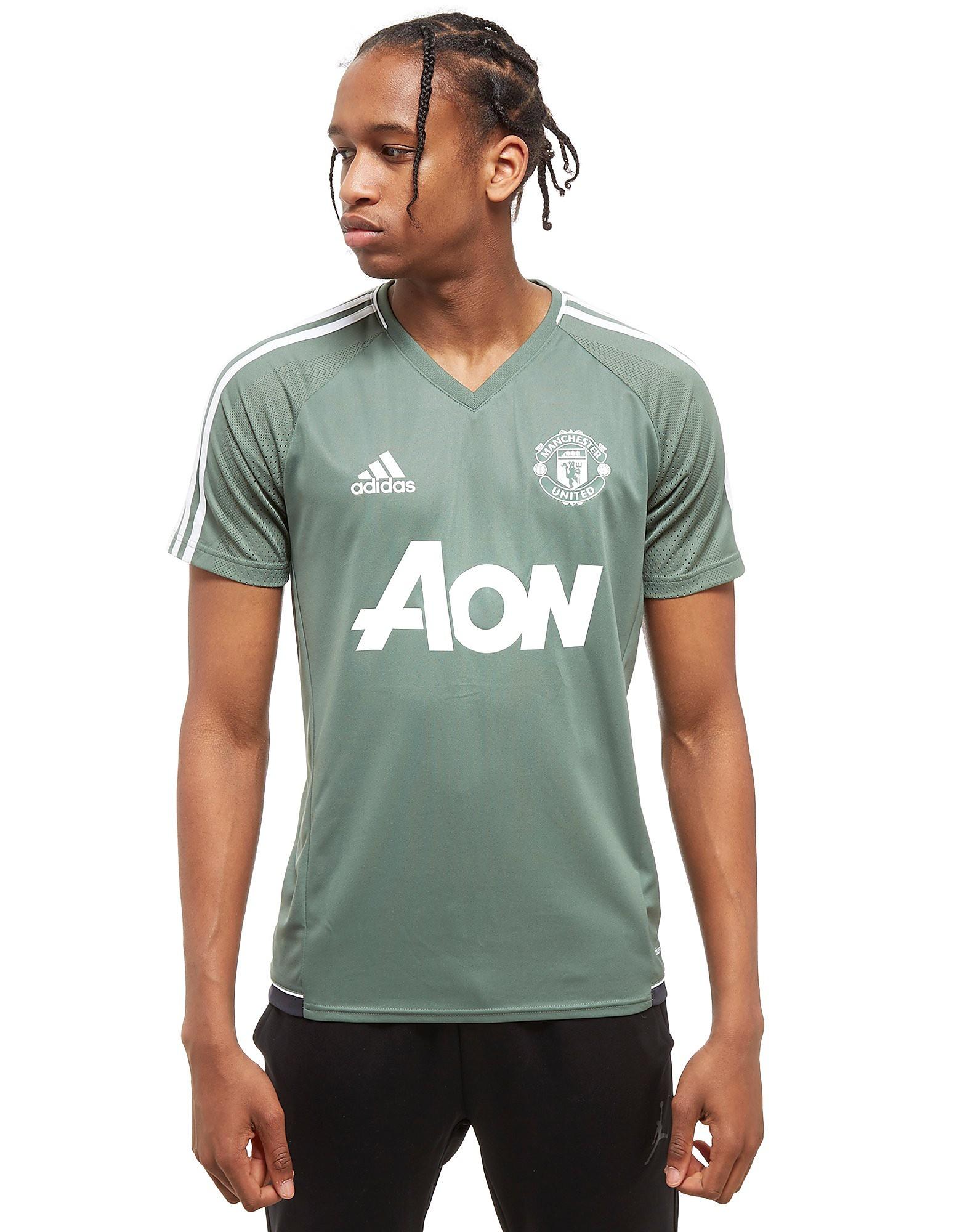 adidas Manchester United FC Training Shirt Grün