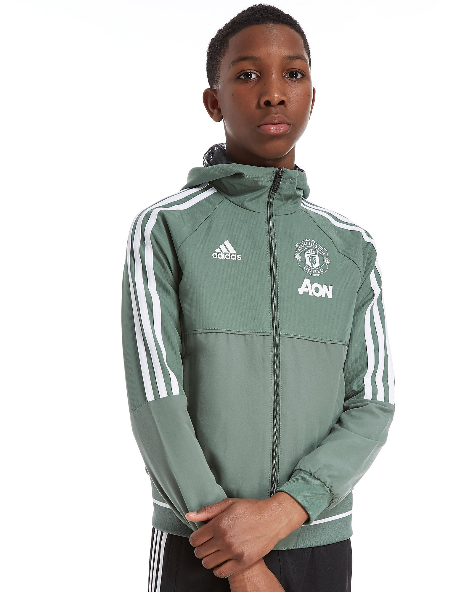 adidas Veste Présentation Junior Manchester United FC