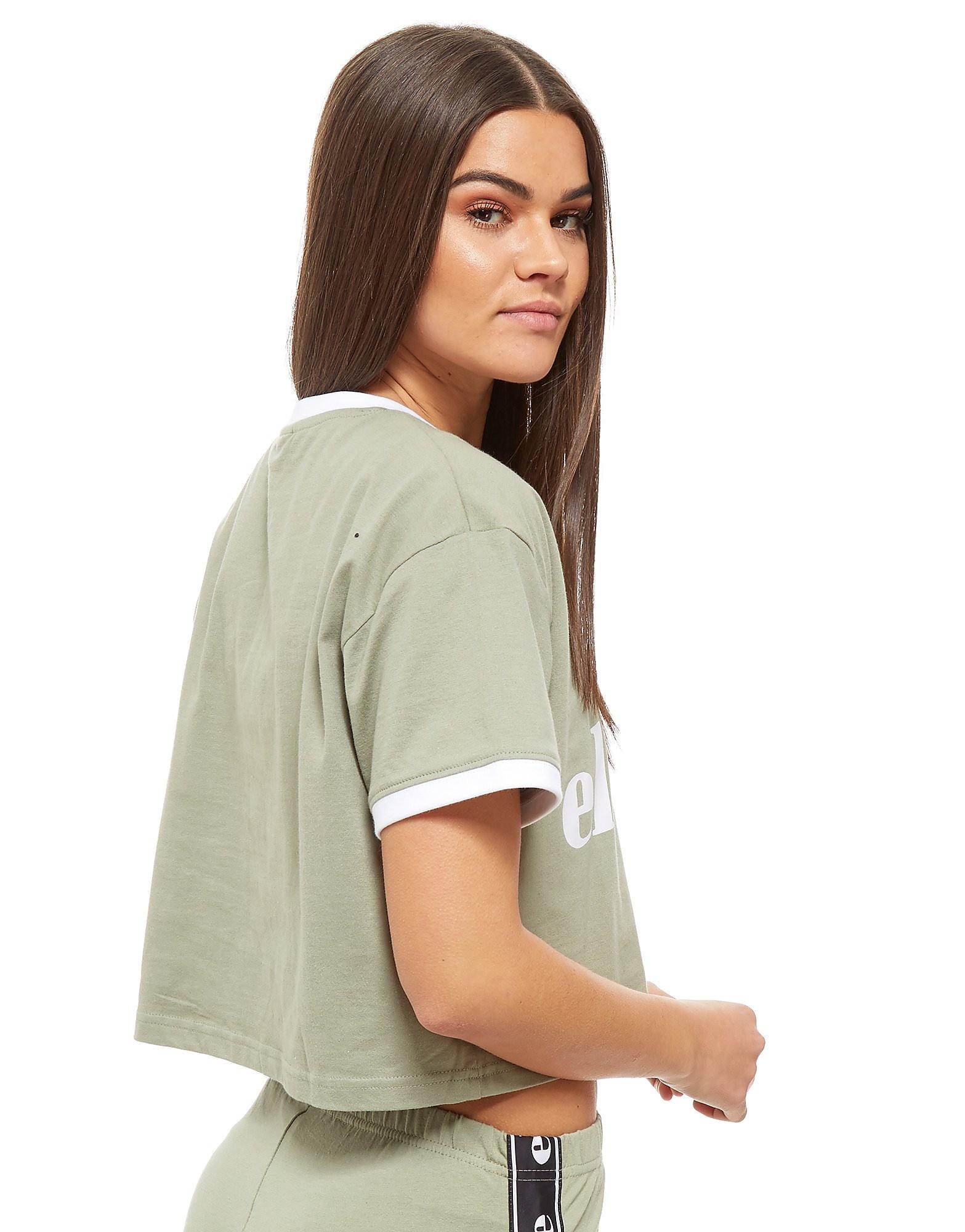 Ellesse Cropped Ringer T-Shirt
