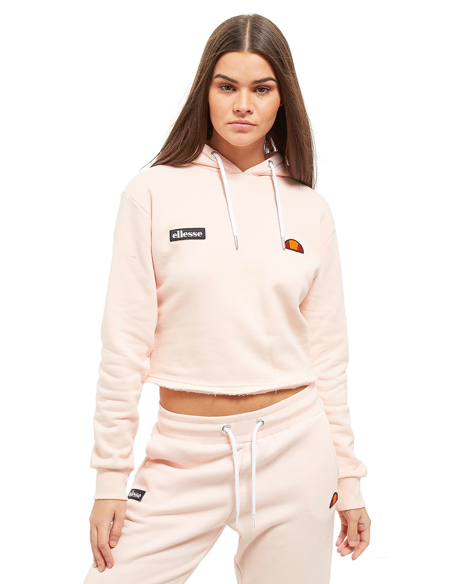 Ellesse sudadera con capucha Logo Crop