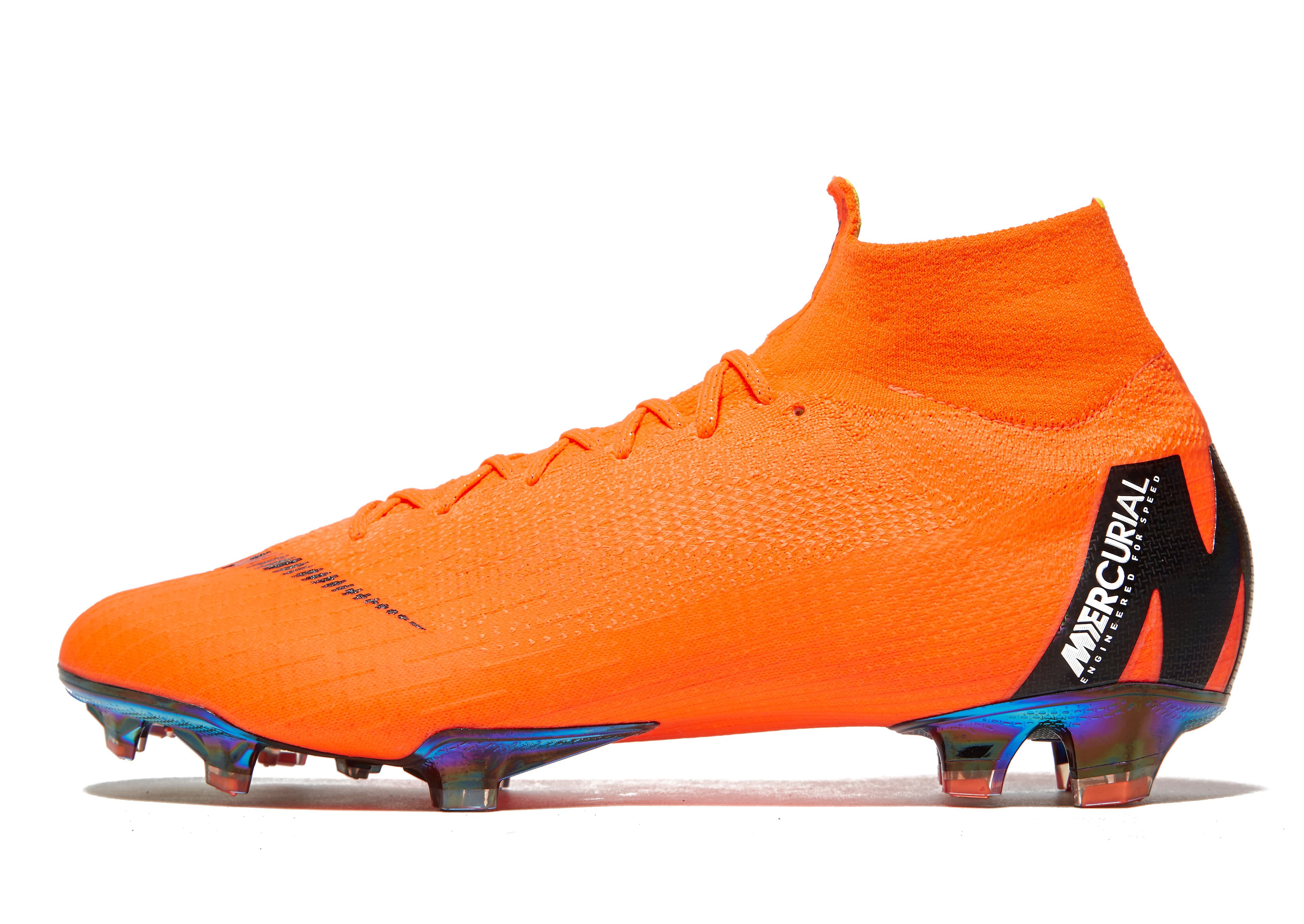 Nike Mercurial 360 Superfly FG Orange-Schwarz