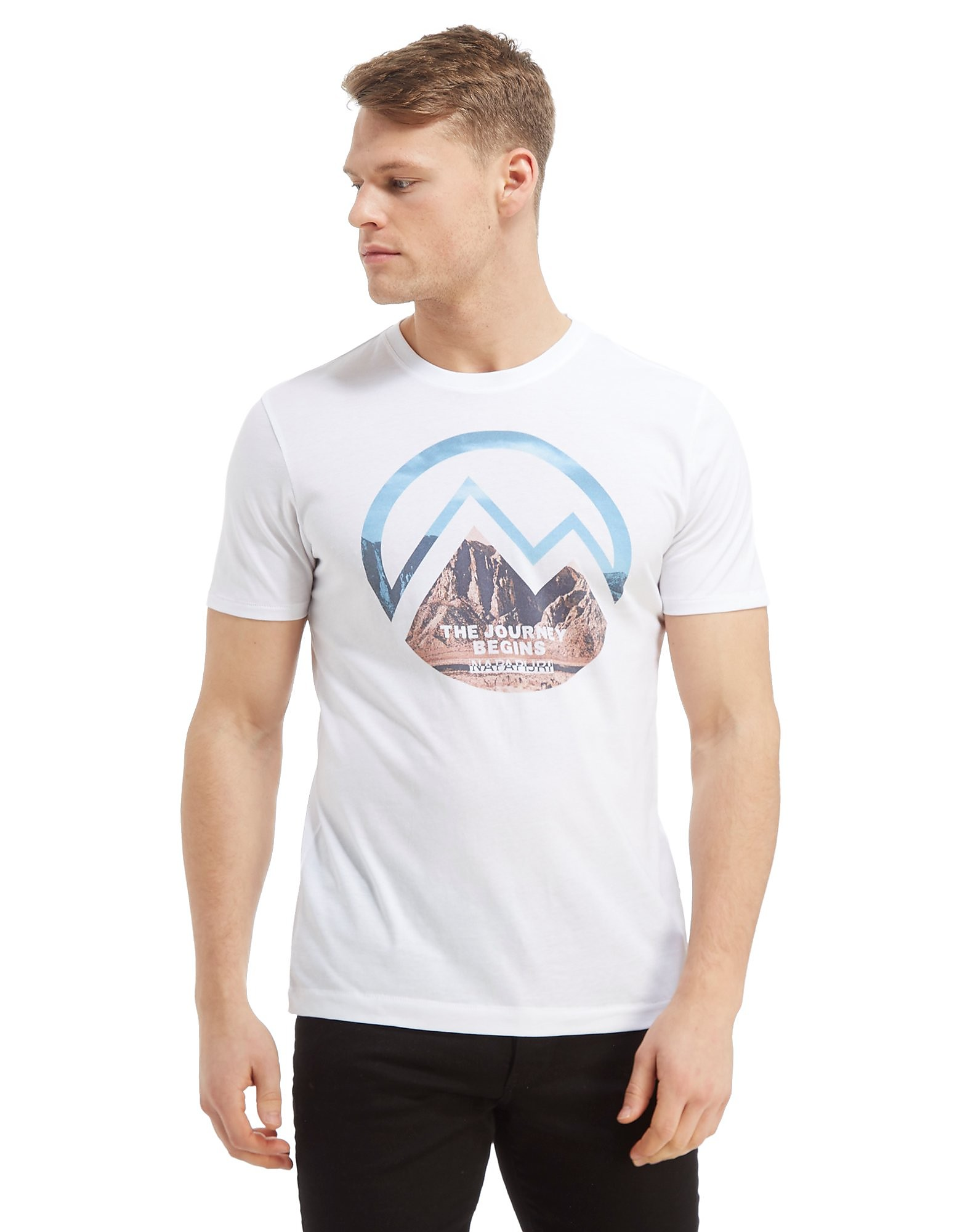 Napapijri Mountain Graphic T-Shirt