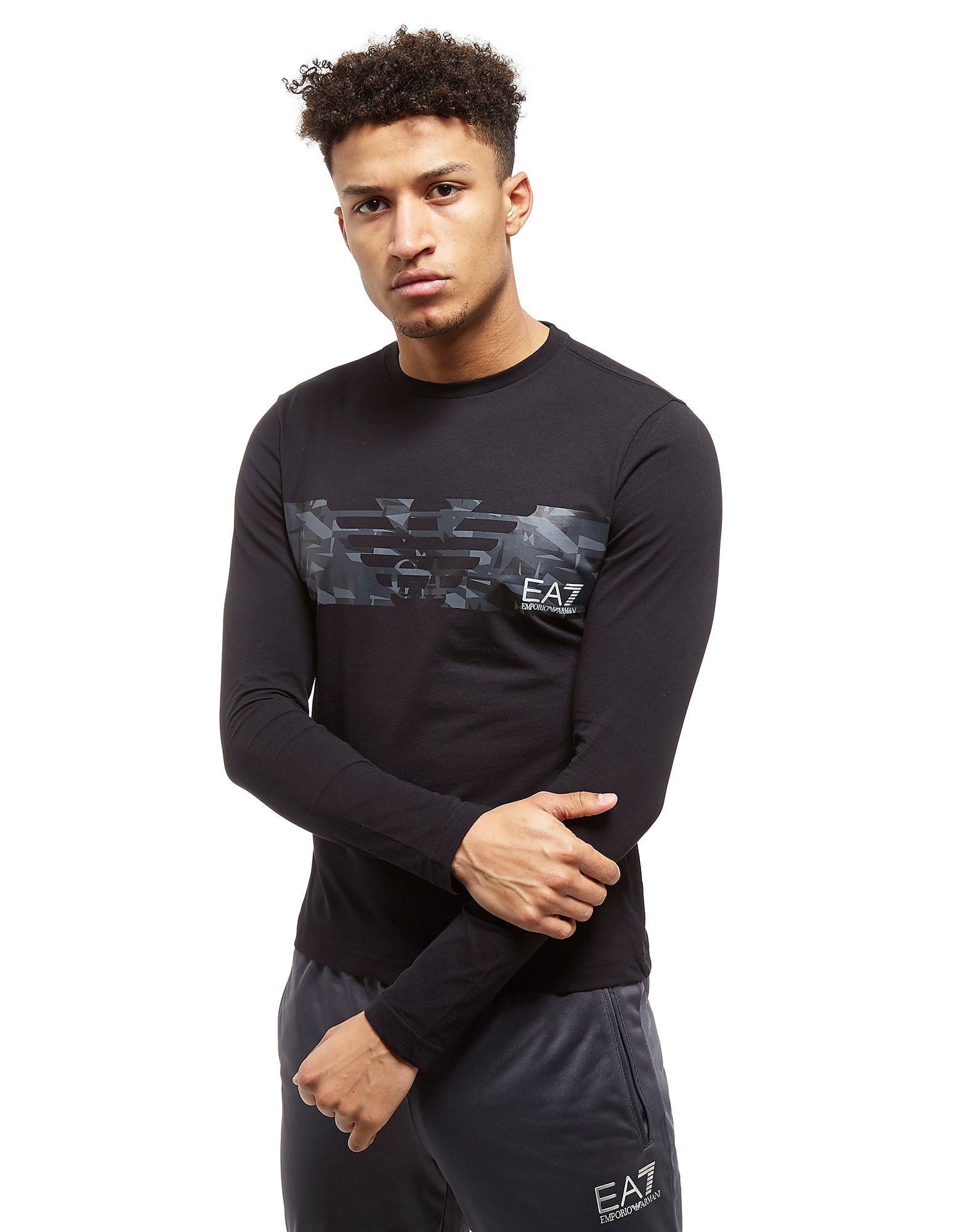 Emporio Armani EA7 Eagle T-Shirt Homme - noir/gris, noir/gris