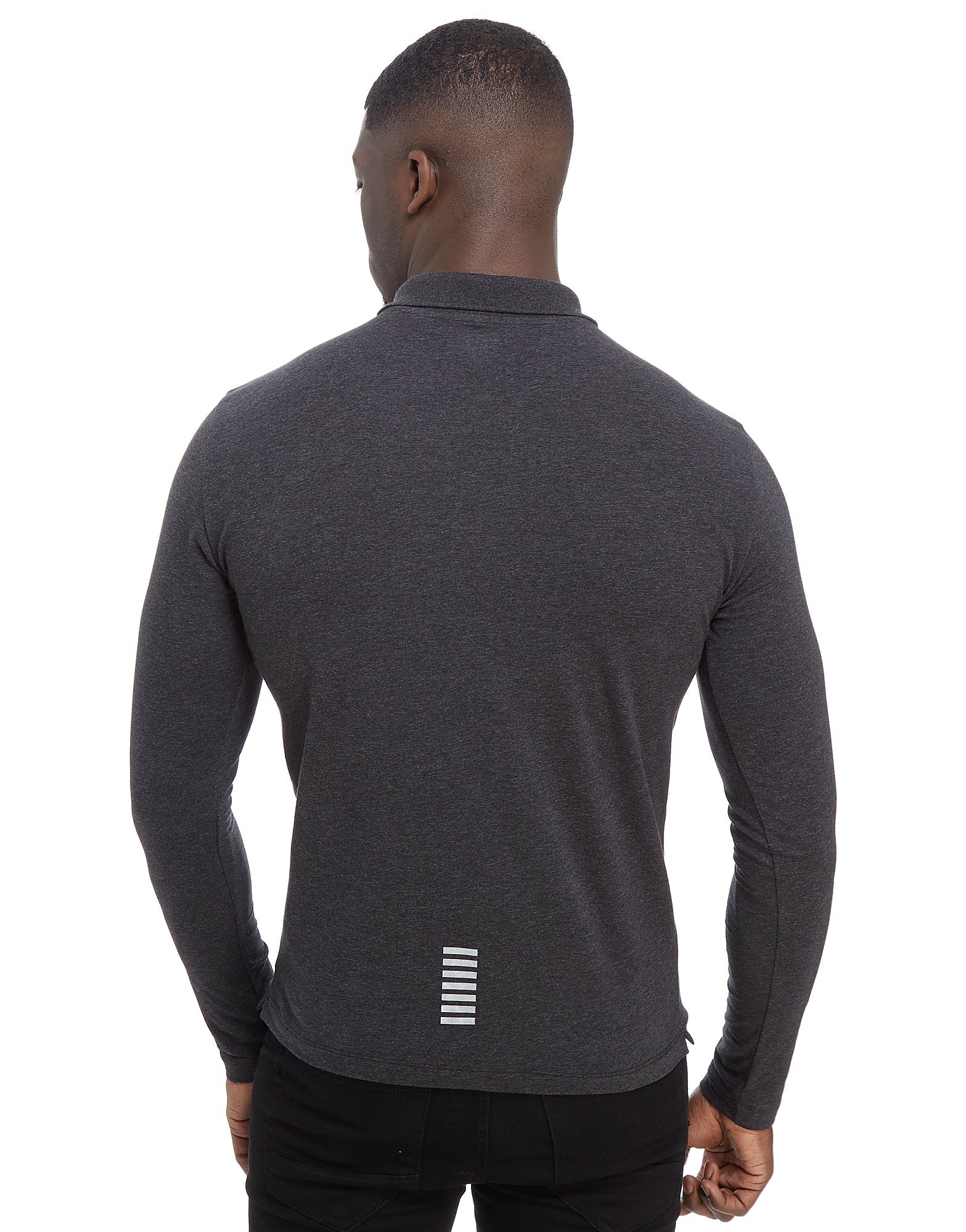 Emporio Armani EA7 Long Sleeve Core Polo Shirt