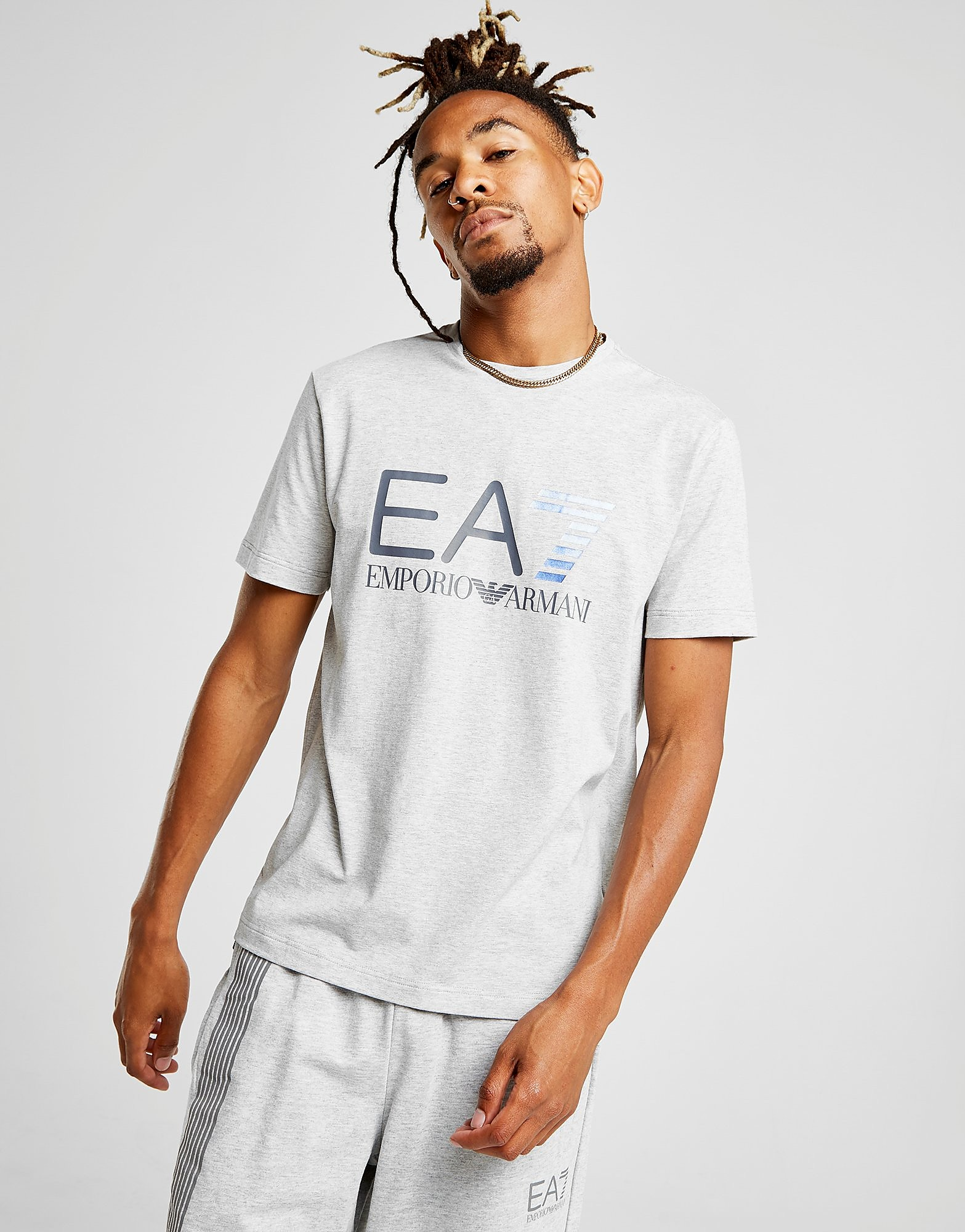 Emporio Armani EA7 Large Central Logo T-Shirt Homme