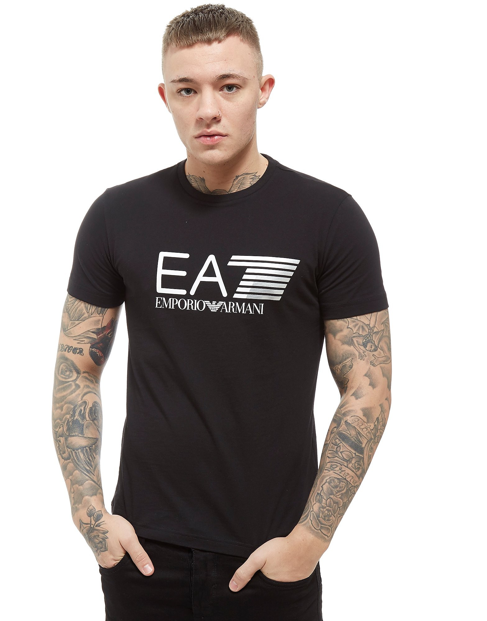 Emporio Armani EA7 camiseta Visibility Large Logo