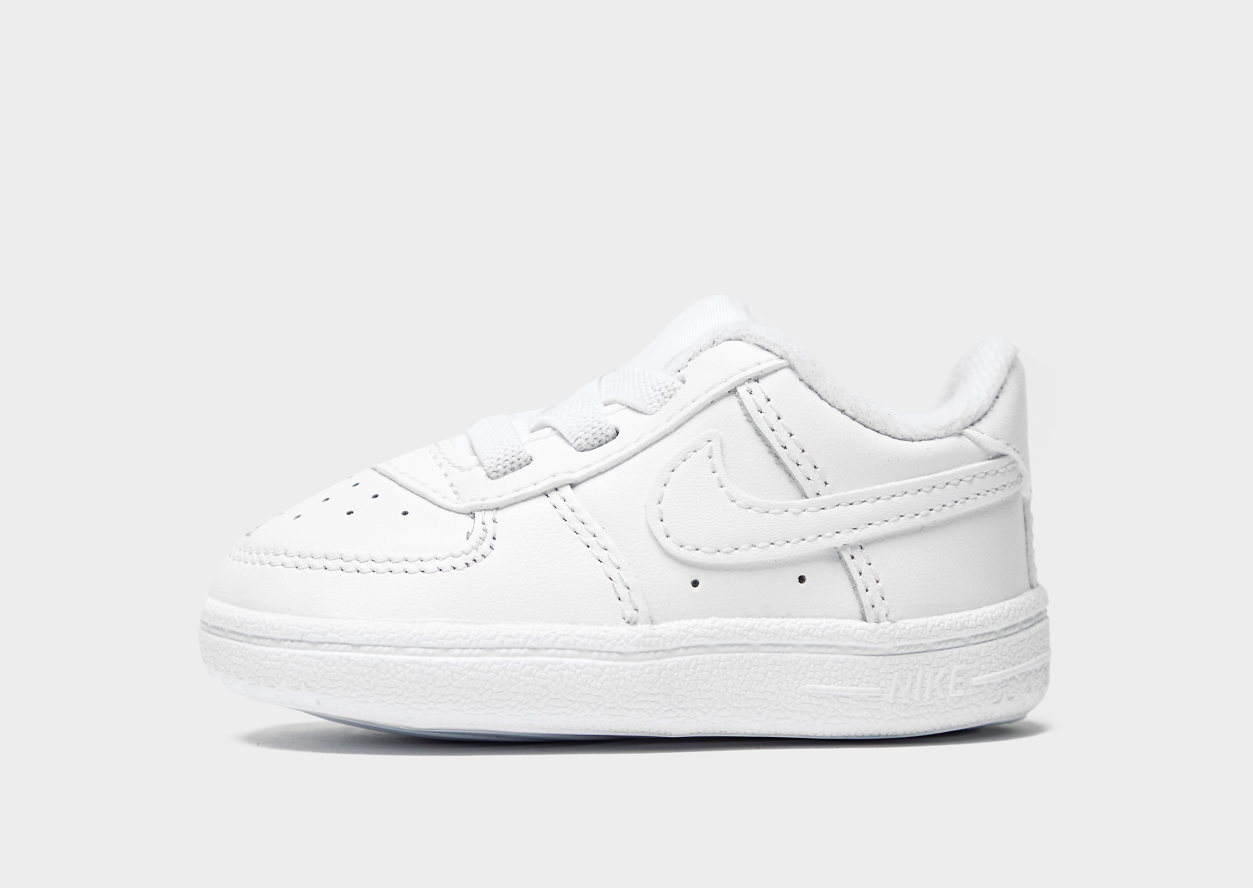 Nike Air Force 1 para bebés, Blanco