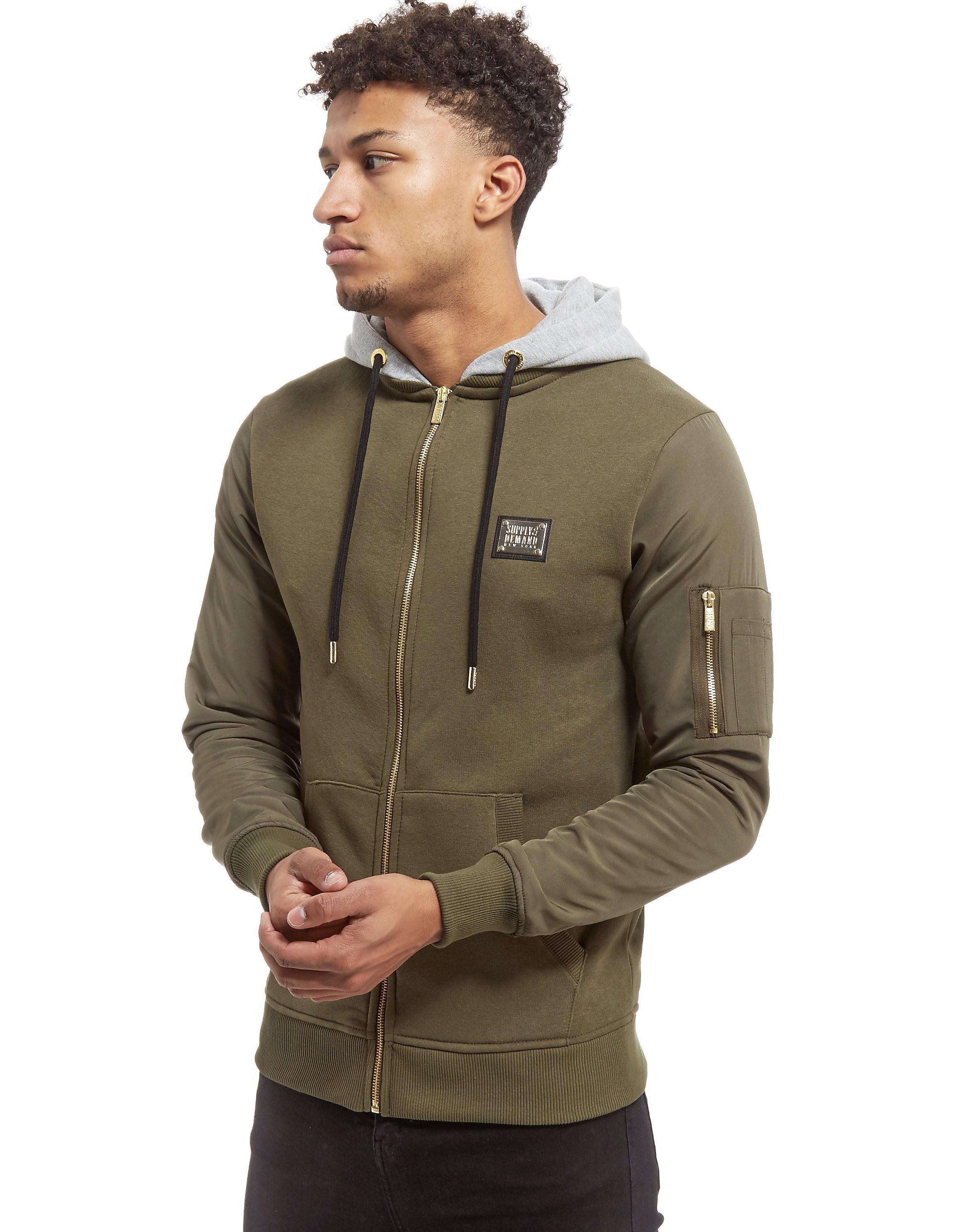 Supply & Demand chaqueta con capucha Jaxon