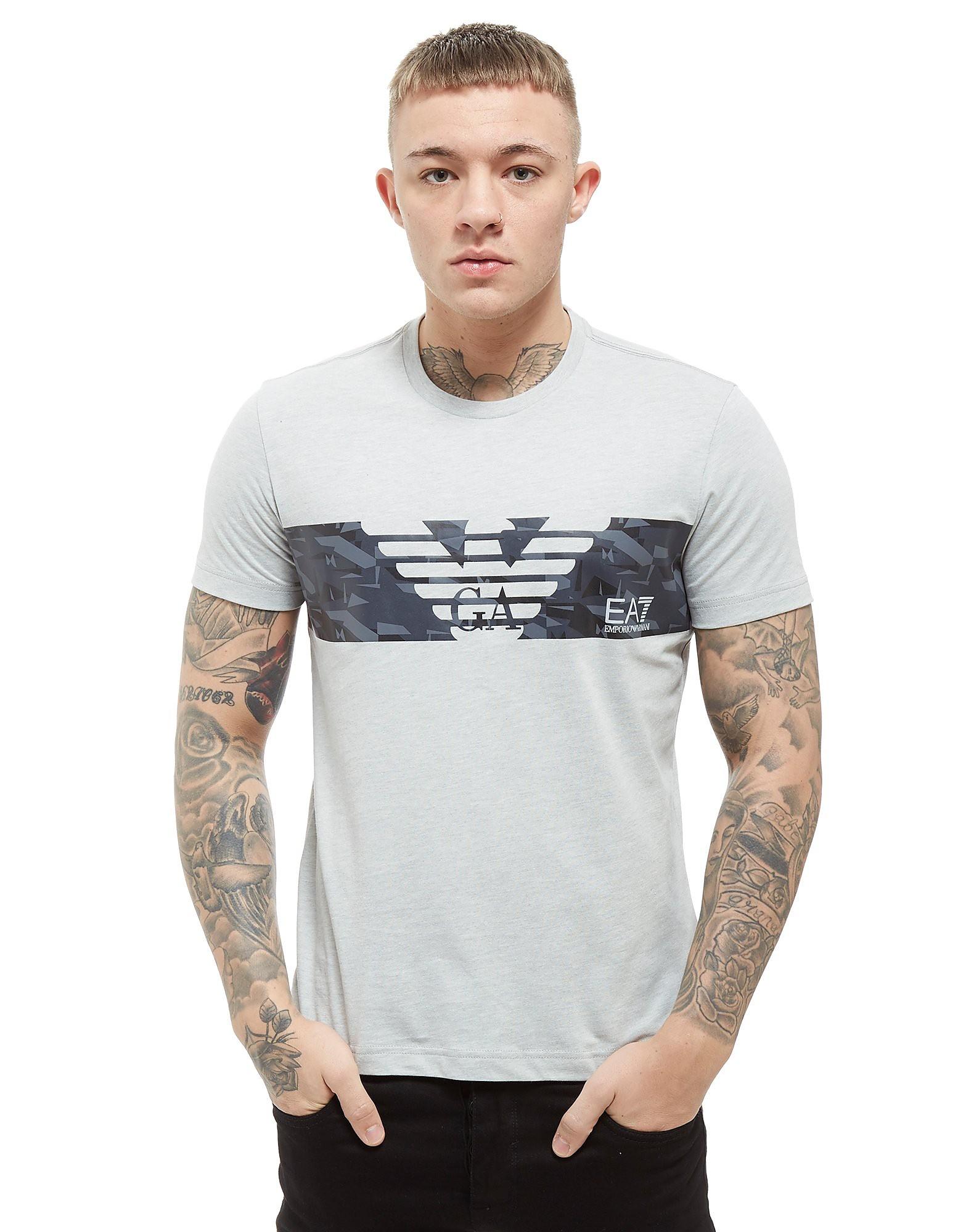 Emporio Armani EA7 camiseta Central Eagle Print