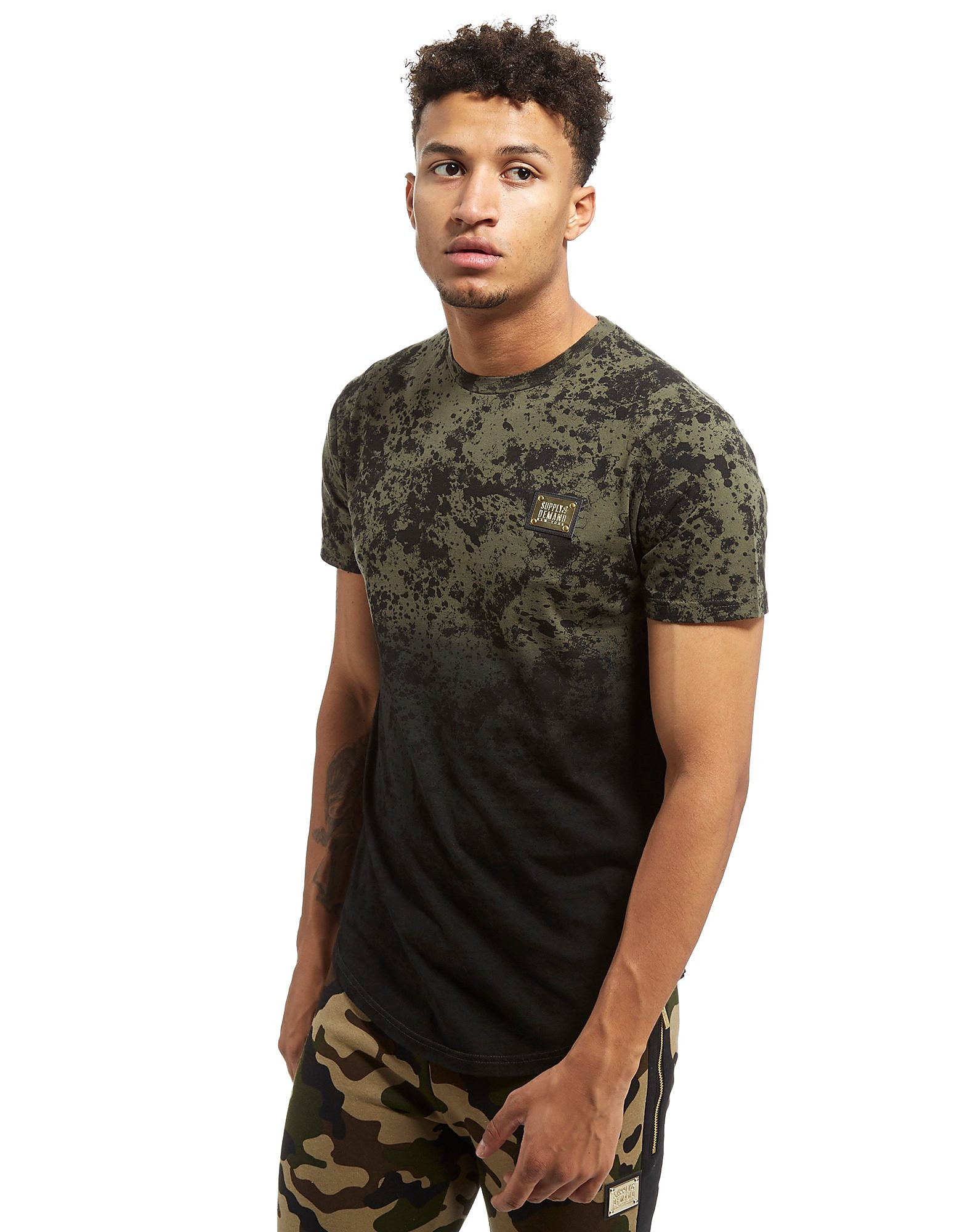 Supply & Demand Scatter T-Shirt - Only at JD, Khaki