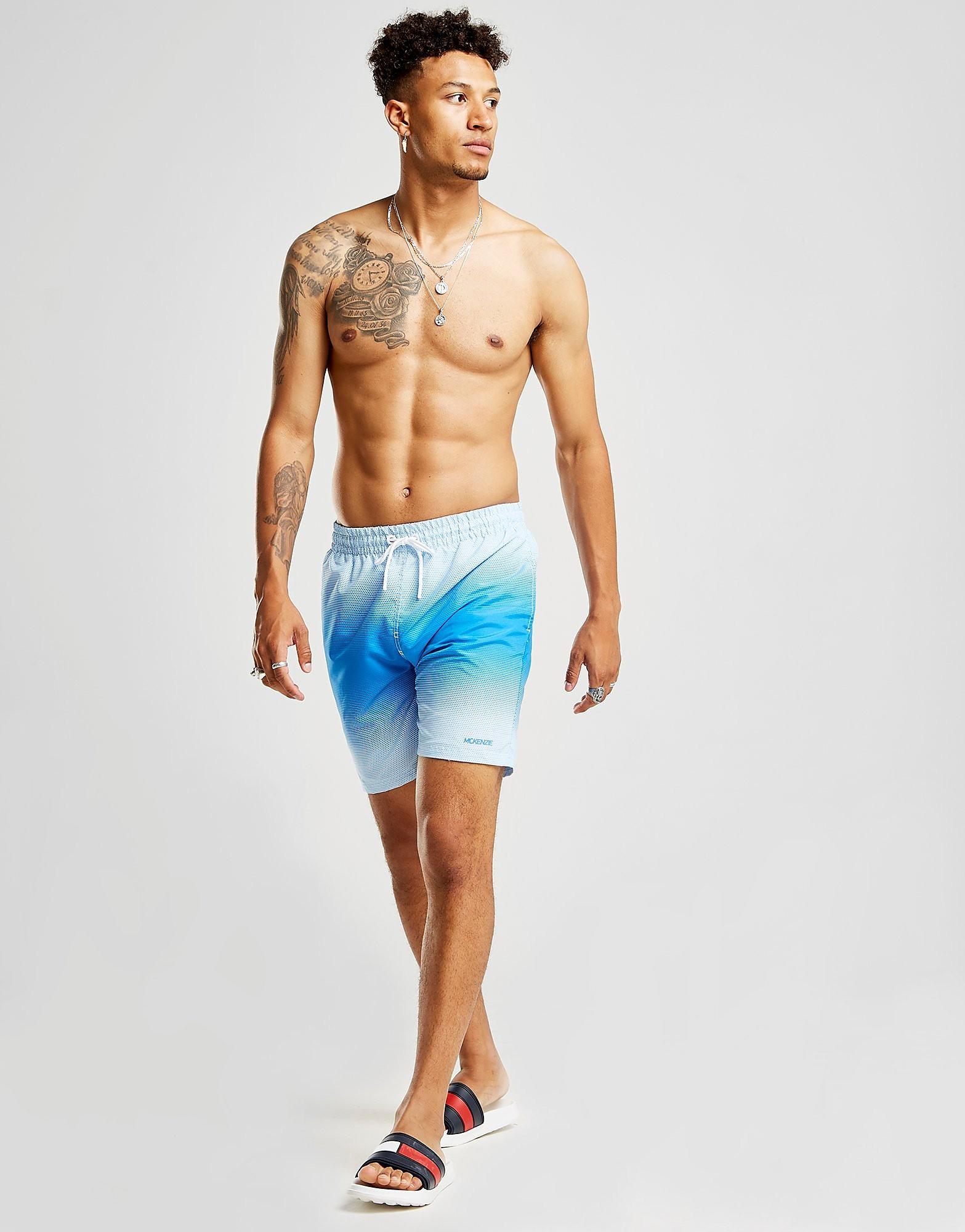 McKenzie Piran Swim Shorts Heren - alleen bij JD - Blauw - Heren