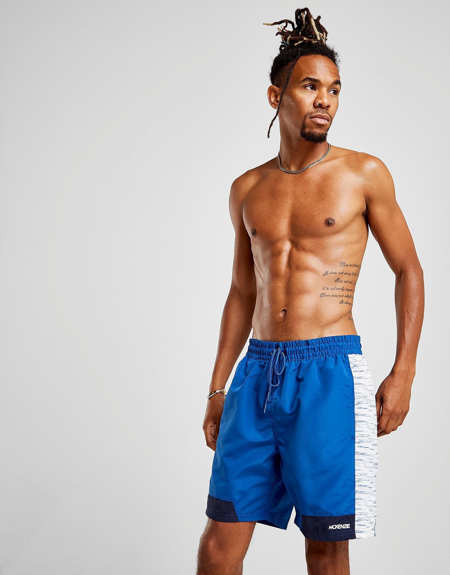 McKenzie Short de bain Banshee Swim Homme - Only at JD - Bleu, Bleu