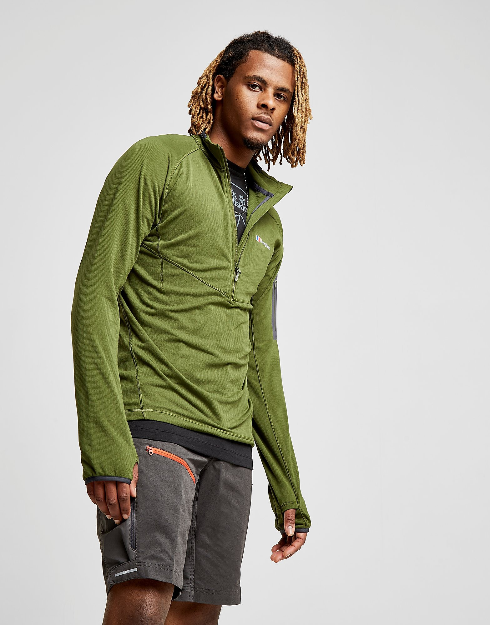 Berghaus Pravitale Pull-On 1/2 Zip Top